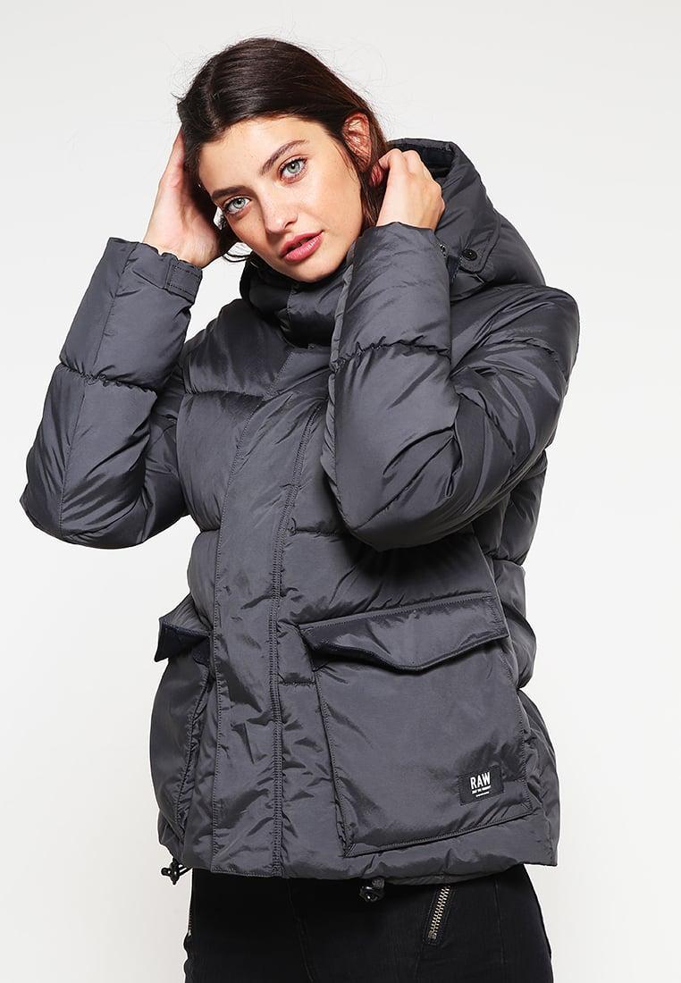 g star raw expedic qlt hdd short jkt winter jacket in grey lyst. Black Bedroom Furniture Sets. Home Design Ideas