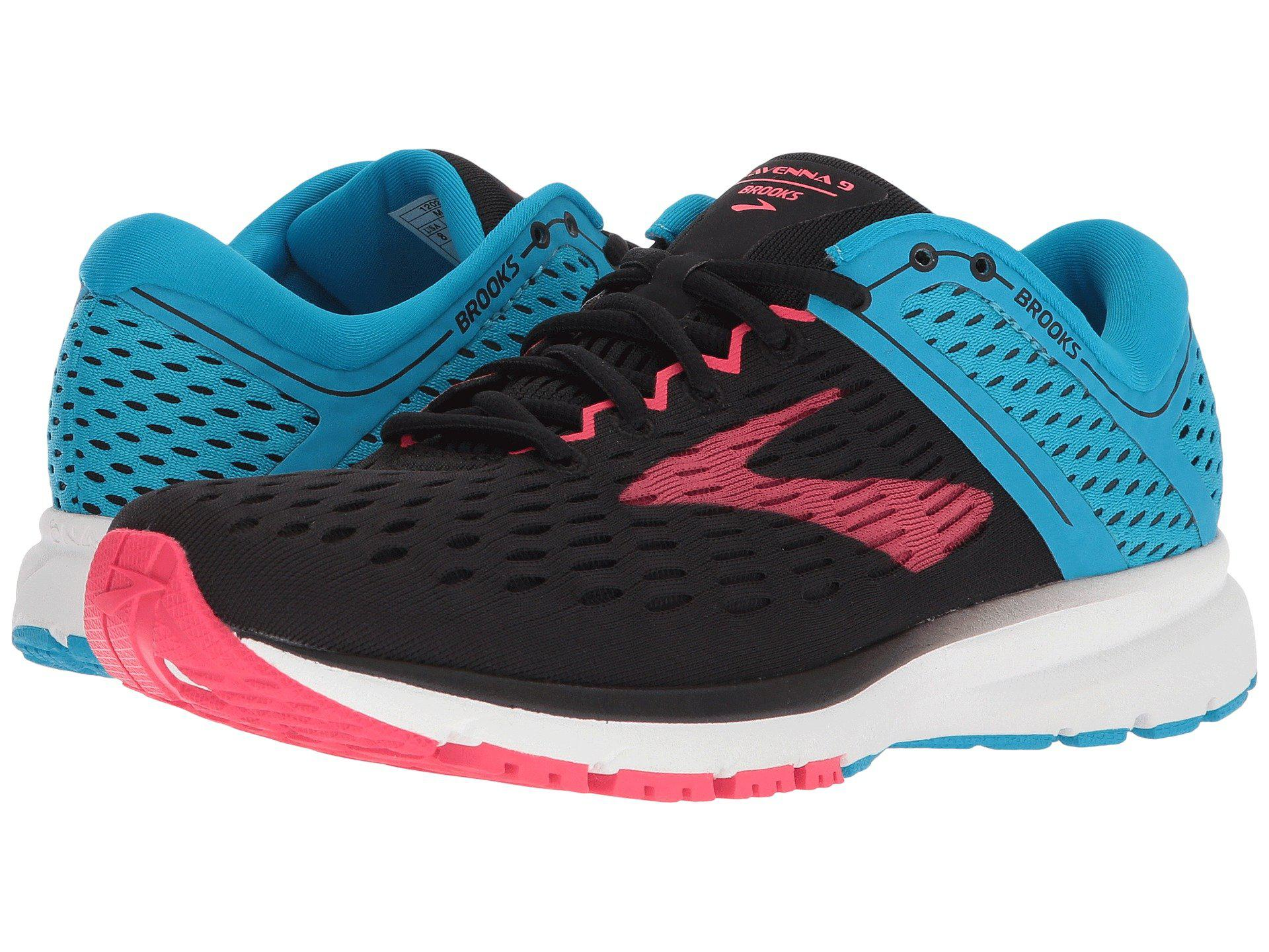 82359f1c8215b Brooks - Ravenna 9 (black blue pink) Women s Running Shoes - Lyst. View  fullscreen