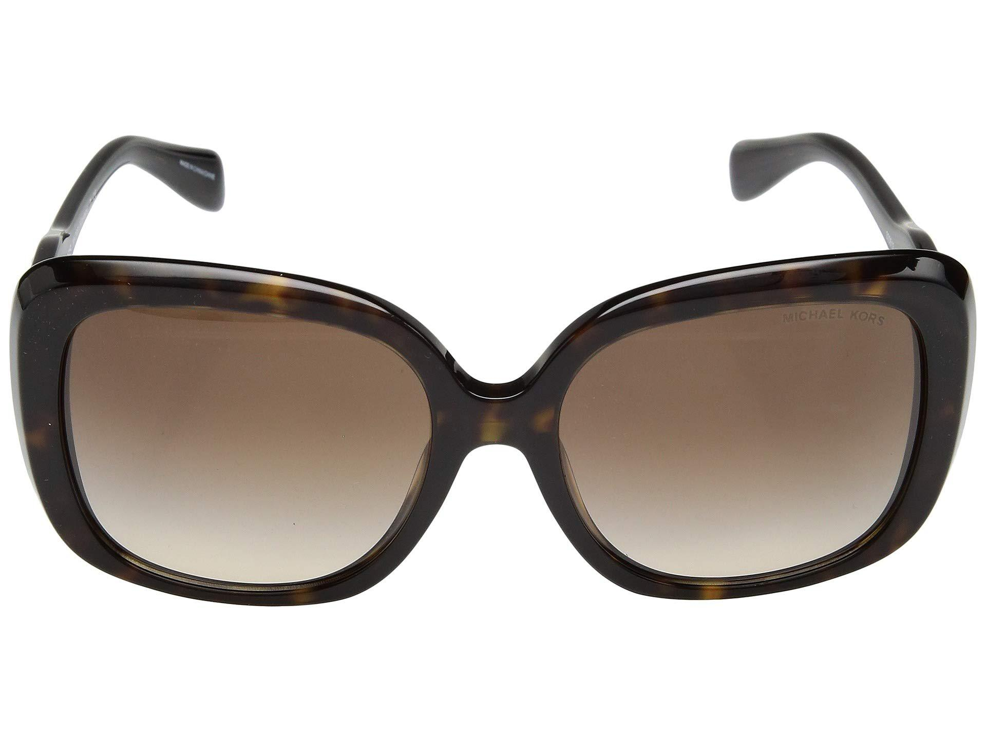 9b36b3c9cbc73 Lyst - Michael Kors 0mk2081 56mm (black gold Tortoise grey Solid ...