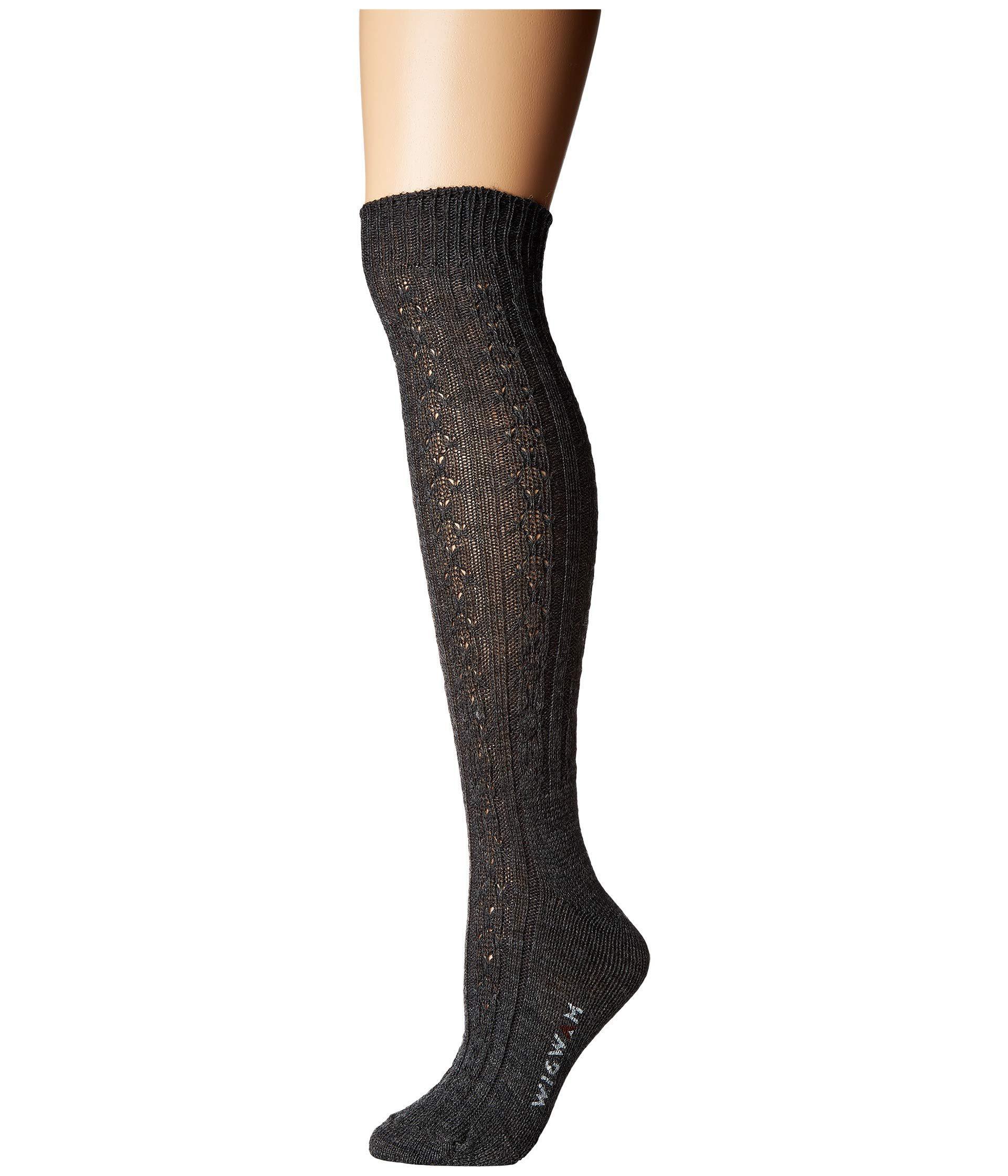 71f477185 Lyst - Wigwam Cable Knee Highs Single Pack (medium Grey Heather ...