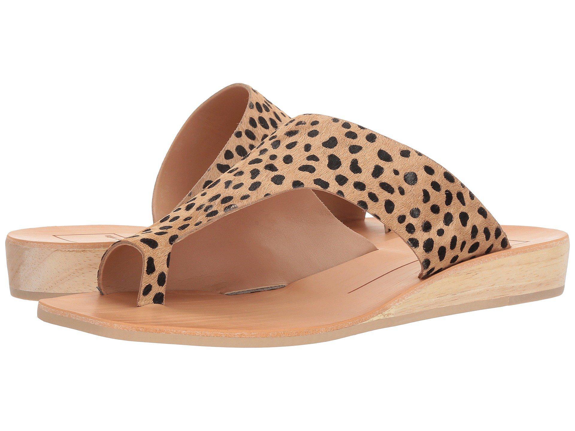 Dolce Vita Leather Hazle Slide Sandal Lyst