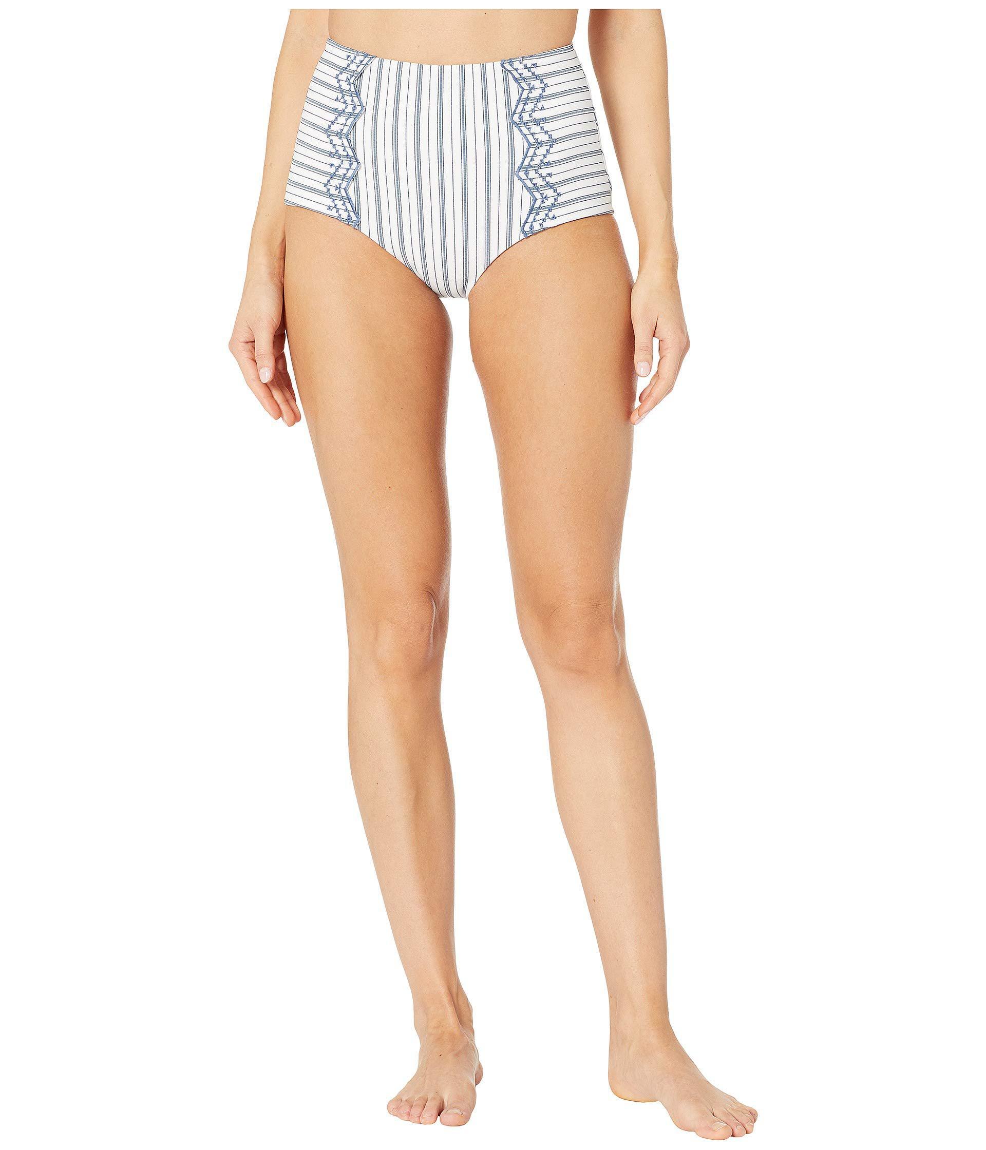 ca45c7de4ecf6 Lyst - Seafolly High-waisted Pant (white) Women's Swimwear in White