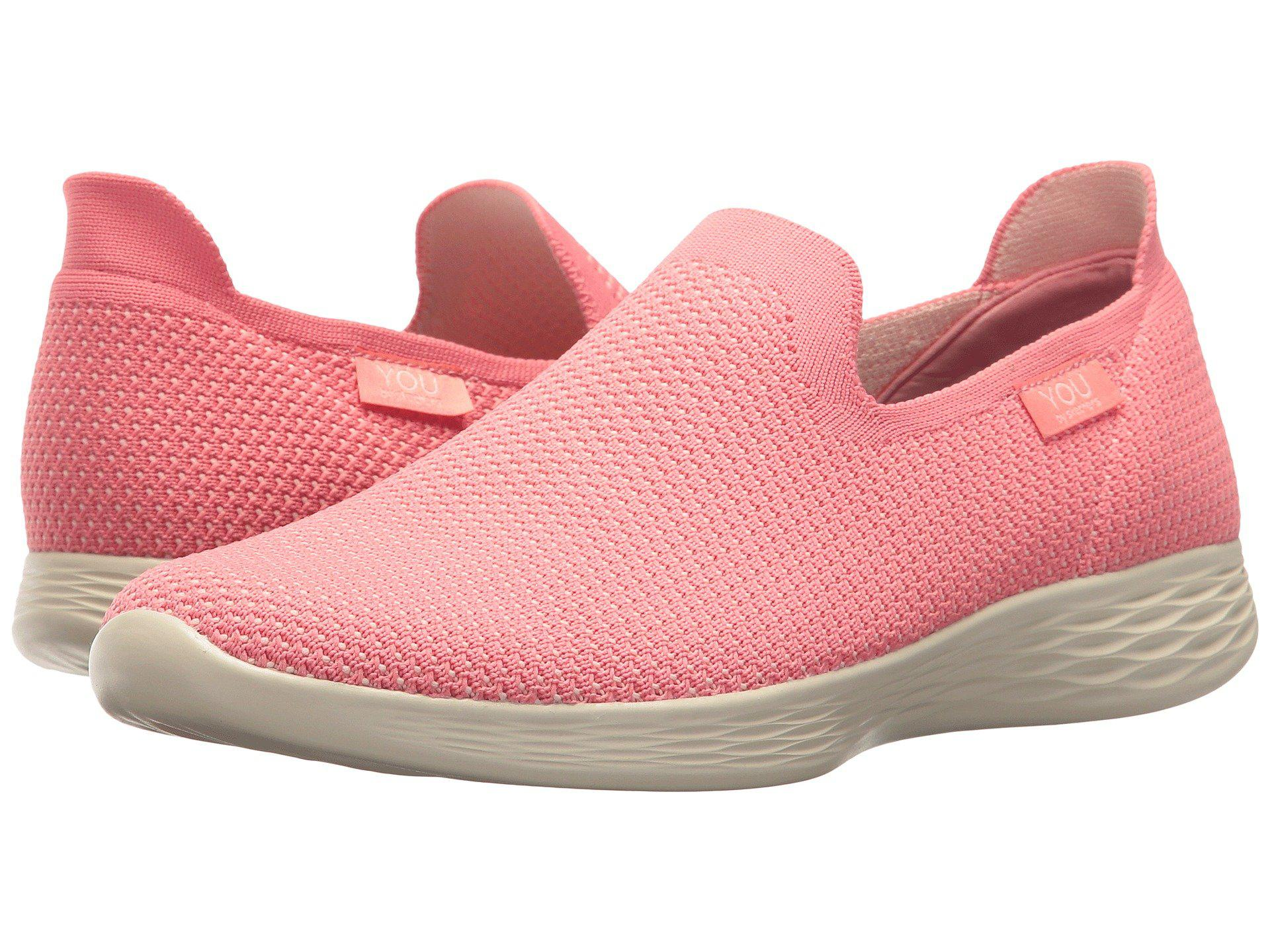 3d9a8bc8a6f3 Lyst - Skechers You - Zen (pink) Women s Shoes in Pink