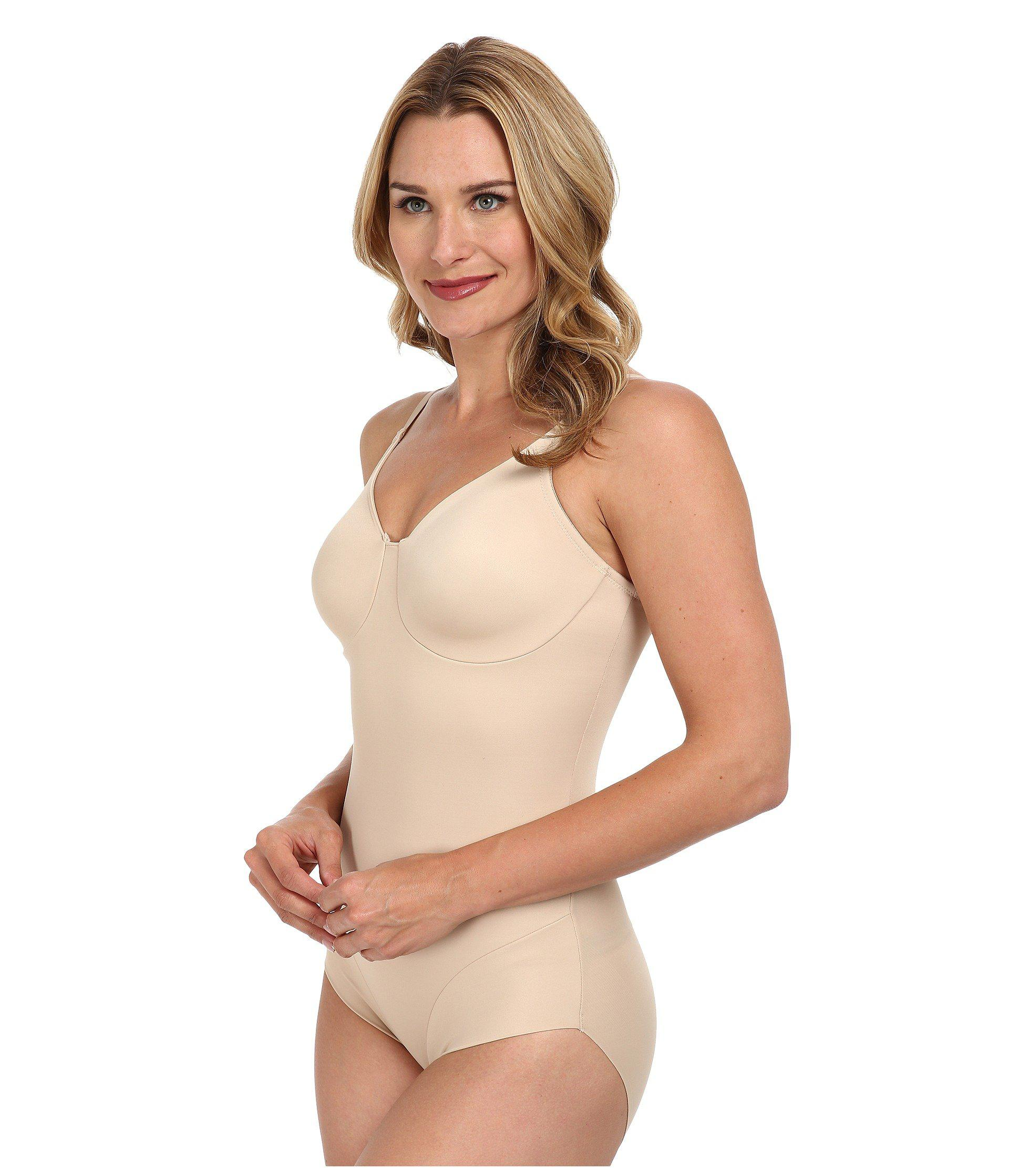c4dc5b7b6e9 Miraclesuit Extra Firm Comfort Leg Smooth Molded Cup Bodybriefer (black)  Women s Bra in Natural - Lyst
