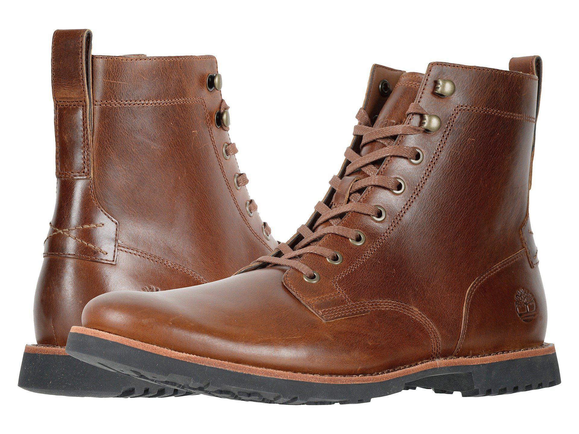 c70e30d07a2 Timberland Kendrick Side Zip Boot (medium Brown Full Grain) Men's Boots for  men