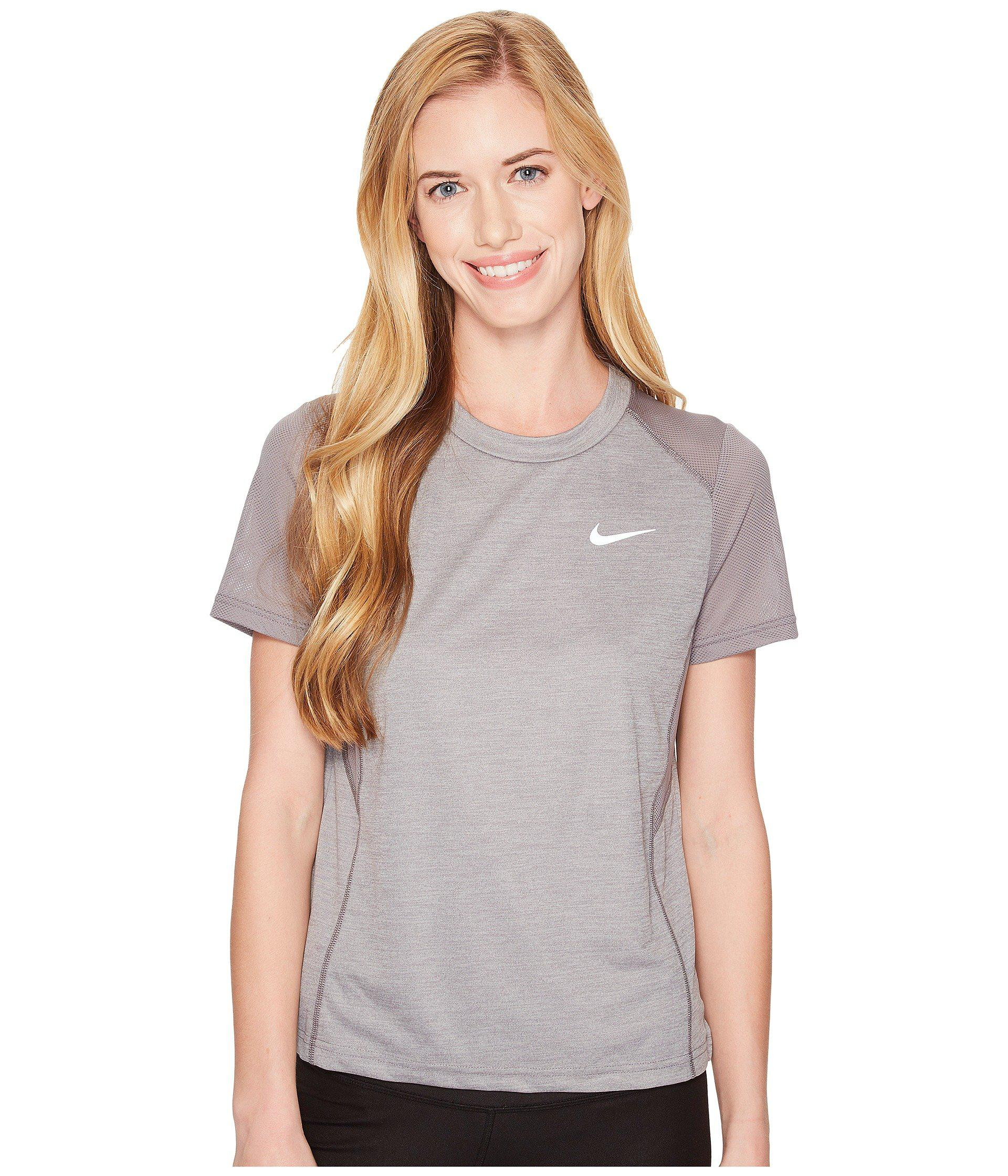 Women's Nike Dry Miler Mesh Running Top | Products