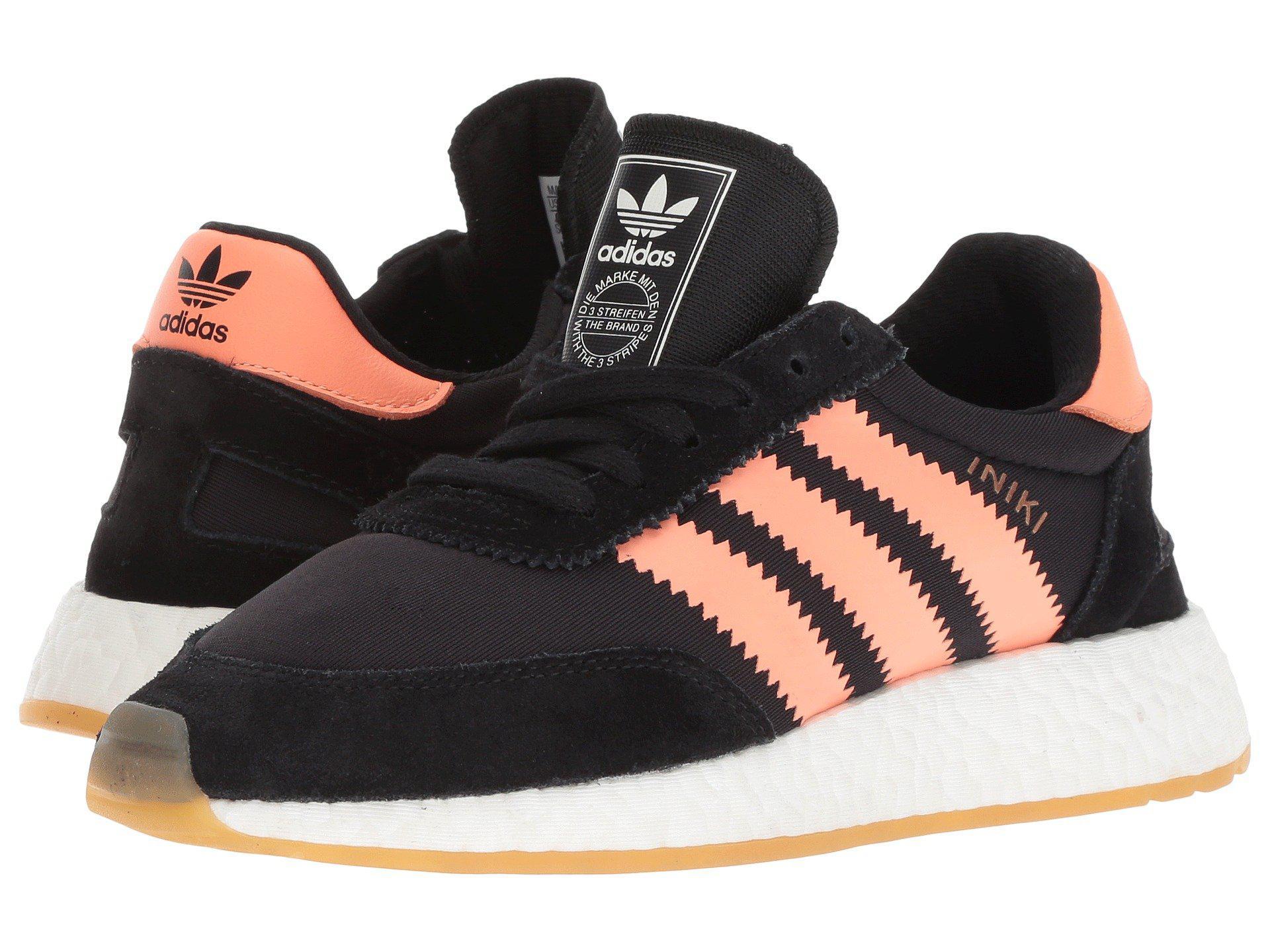 Shoes Lyst Women's Runner Adidas cblackseflorgum3 Iniki Boost SPTYfq