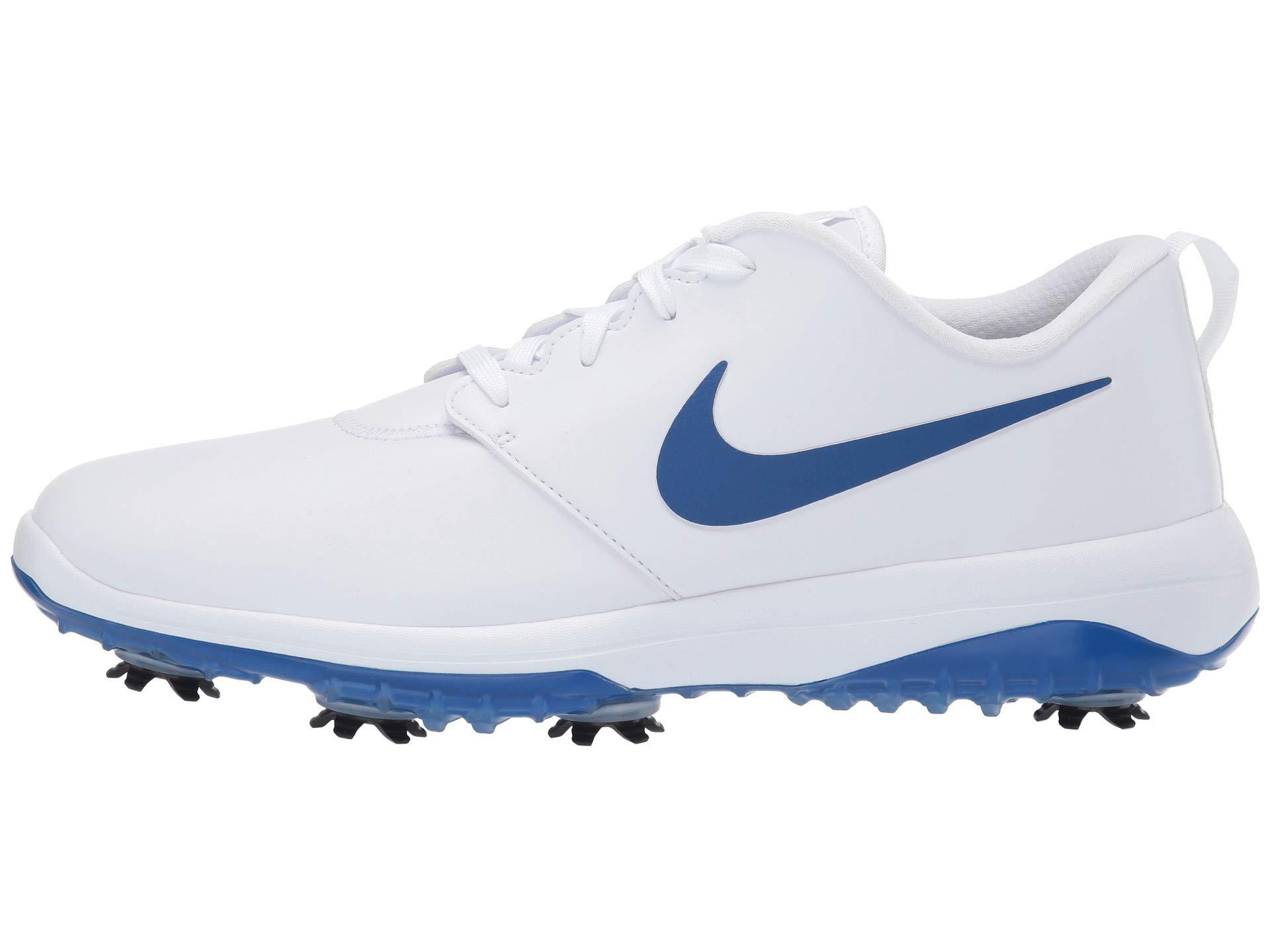 the latest cee64 73949 Nike Roshe G Tour (pure Platinum black white volt Glow) Men s Golf Shoes in  White for Men - Lyst