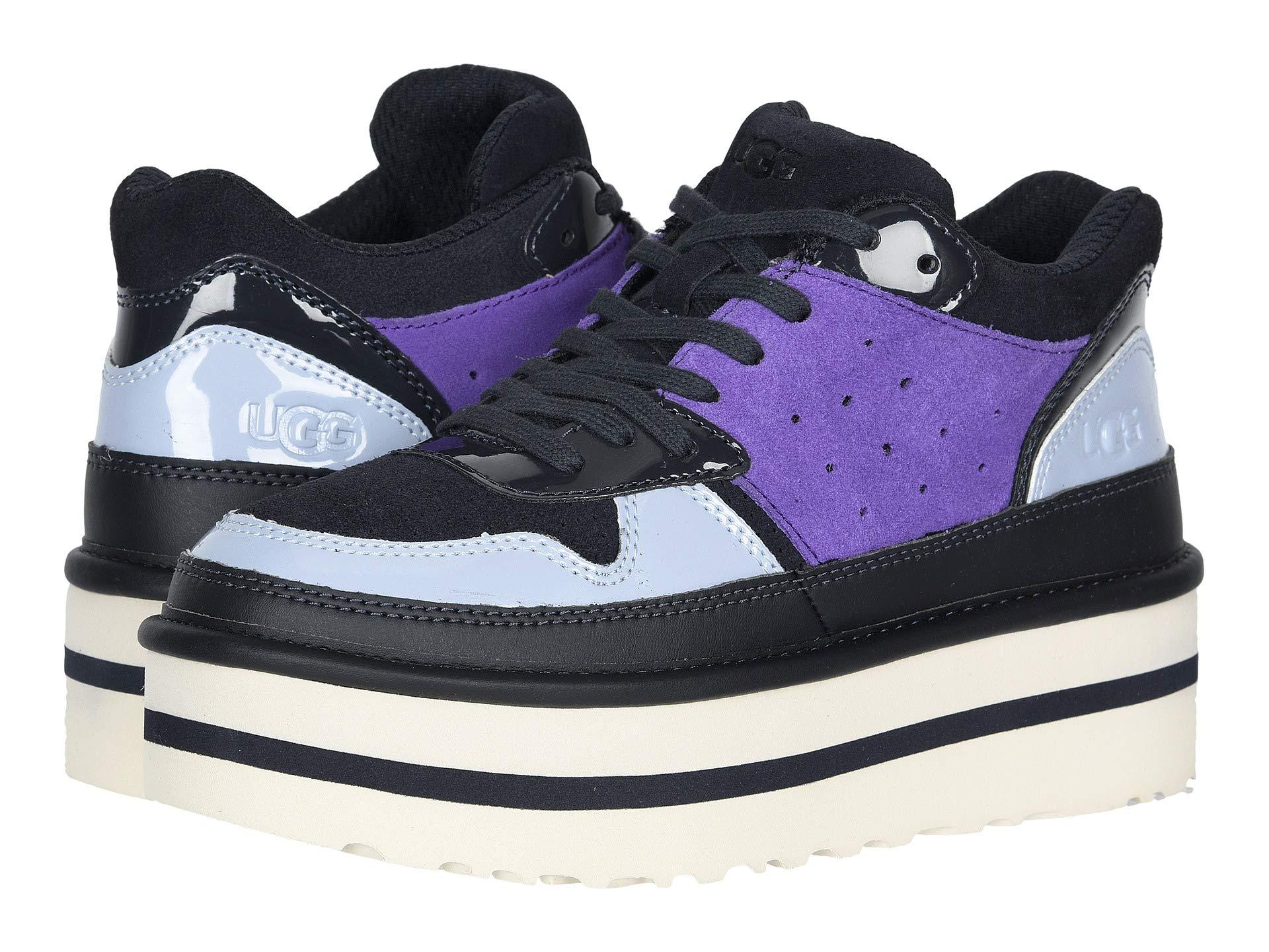 new high quality autumn shoes price reduced Women's Blue Pop Punk Sneaker