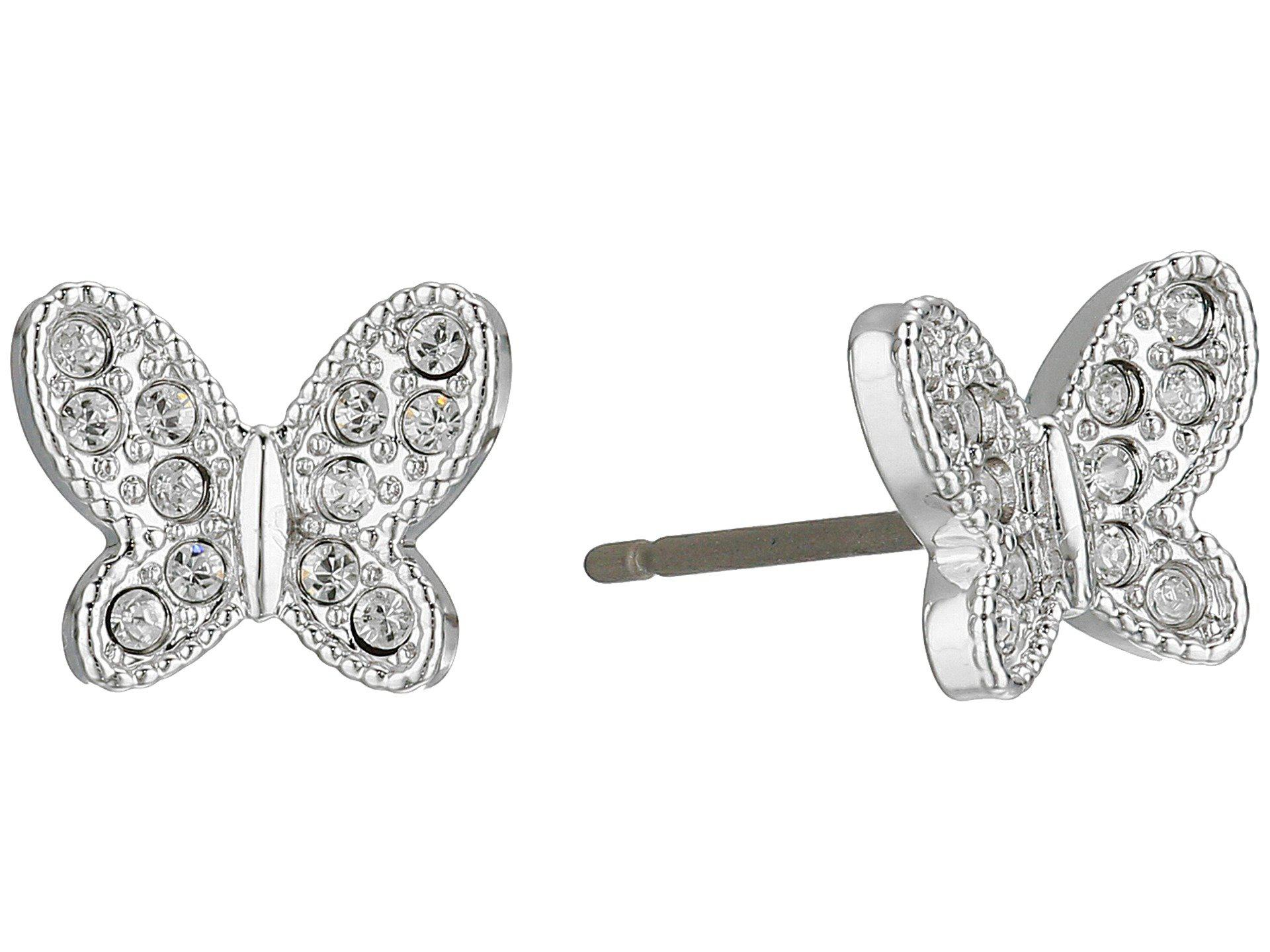 favorable price cheapest low price Field Butterfly Pierced Earrings
