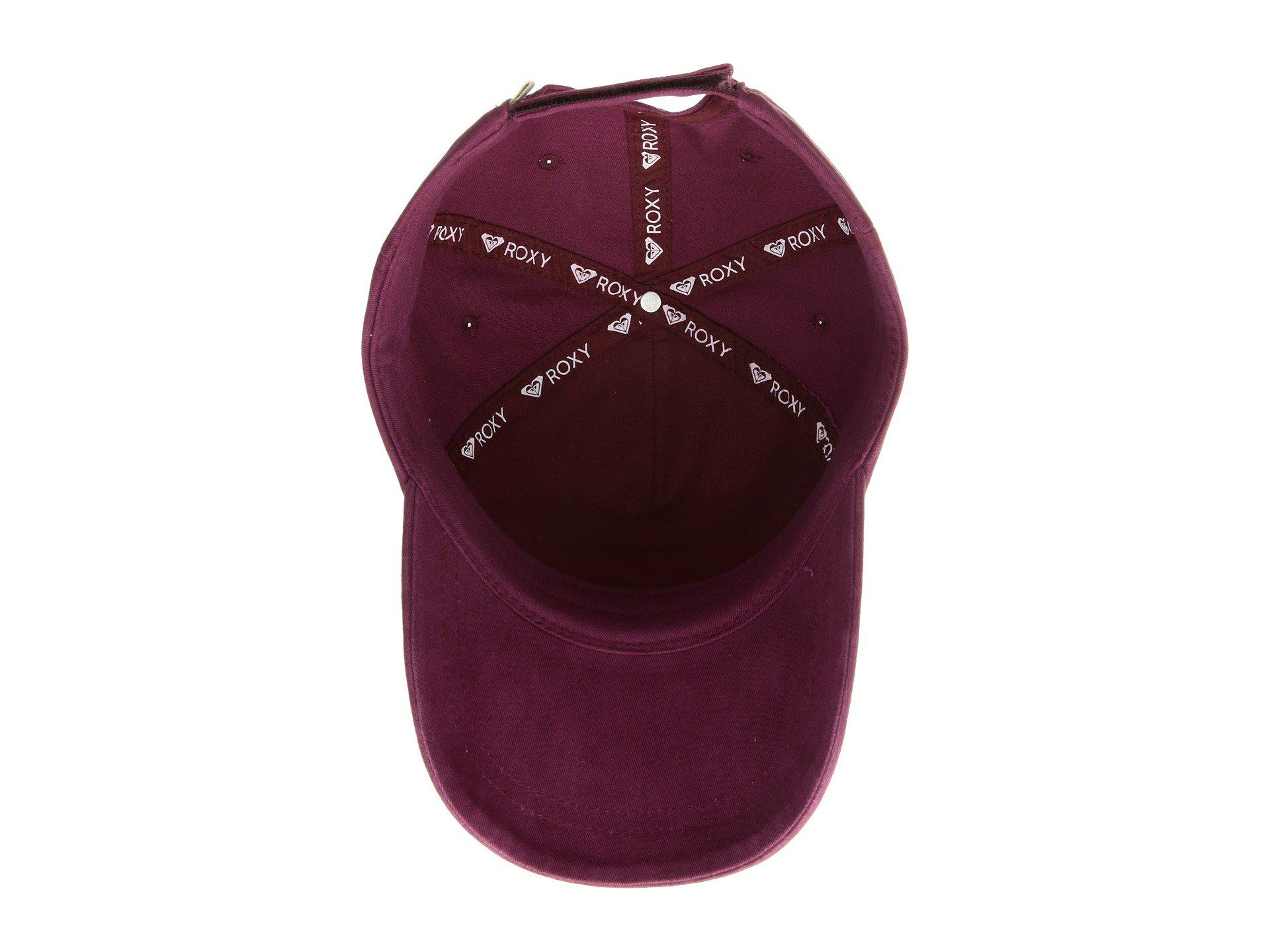 0e850dde5a00cb Lyst - Roxy Extra Innings A Baseball Cap (anthracite) Baseball Caps ...