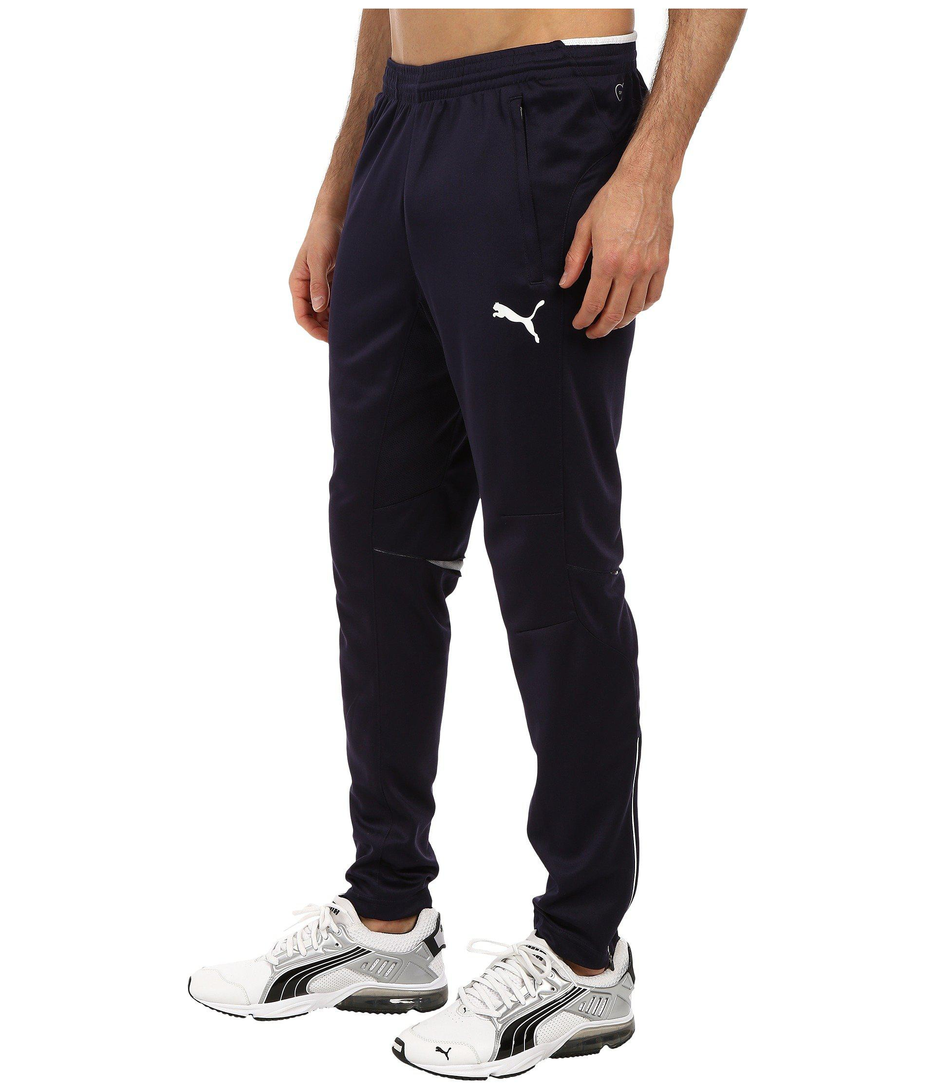 10c8c25b0d76 Lyst - PUMA Training Pant (new Navy white) Men s Casual Pants in Blue for  Men