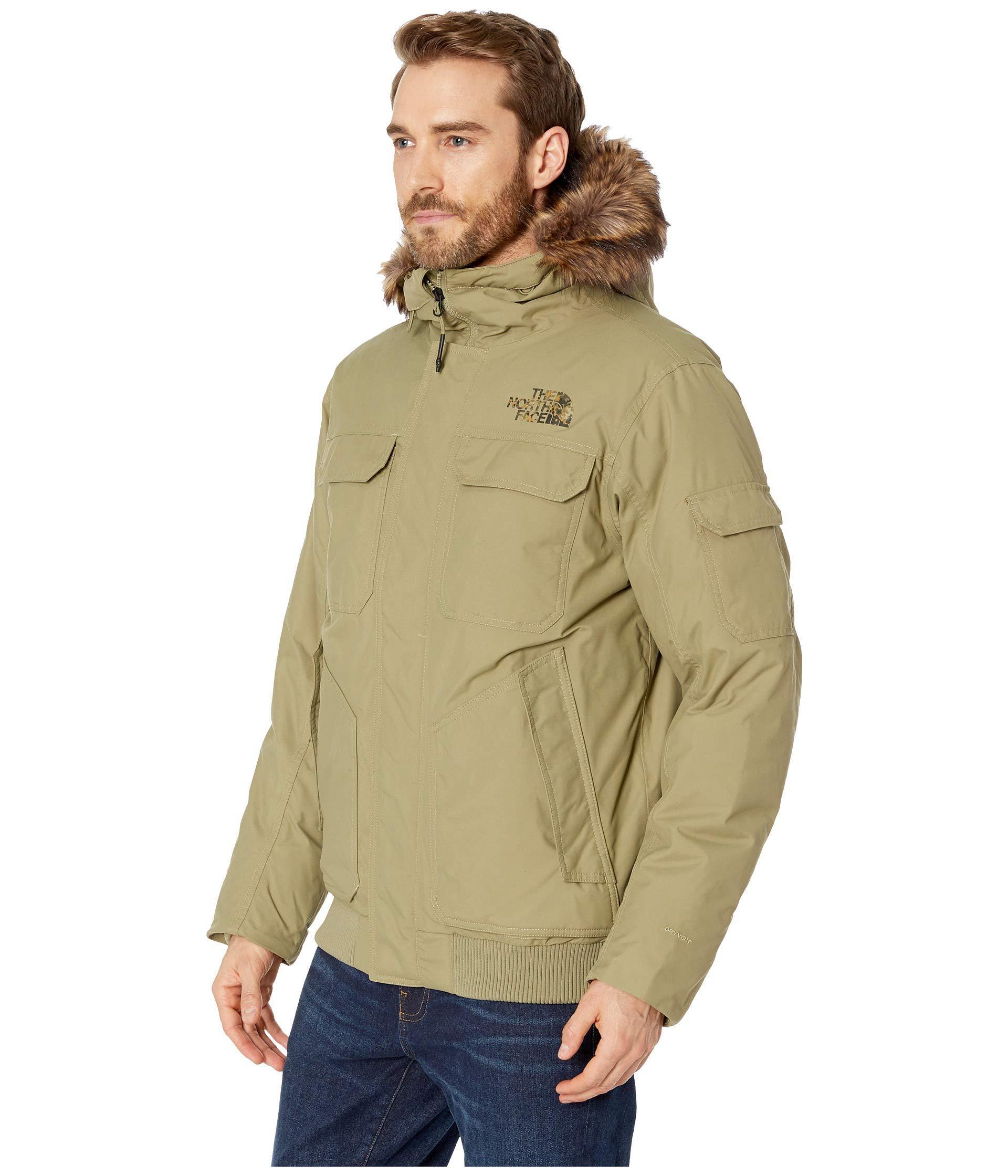 f512e37c0232 ... 50% off lyst the north face gotham jacket iii tnf black metallic copper mens  coat