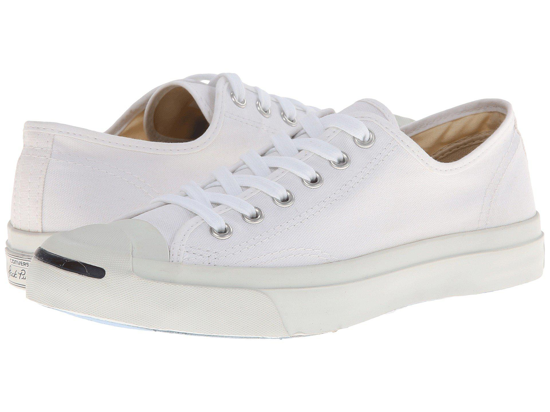 Lyst - Converse Jack Purcell(r) Cp Canvas Low Top (white white ... bc9e9761a