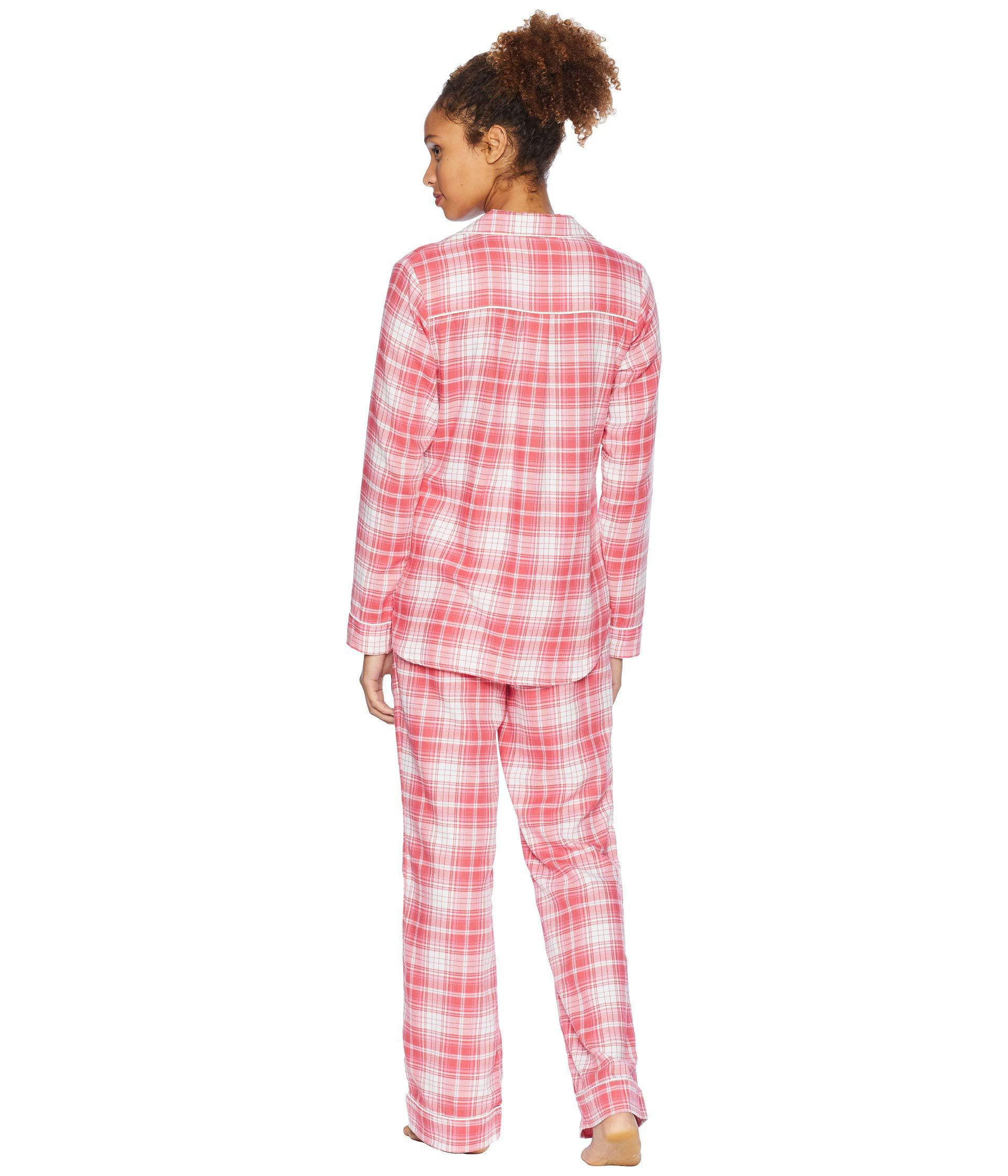 327f7afabb Lyst - UGG Raven Woven Sleepwear Set Flannel Gift (lavender Aura ...