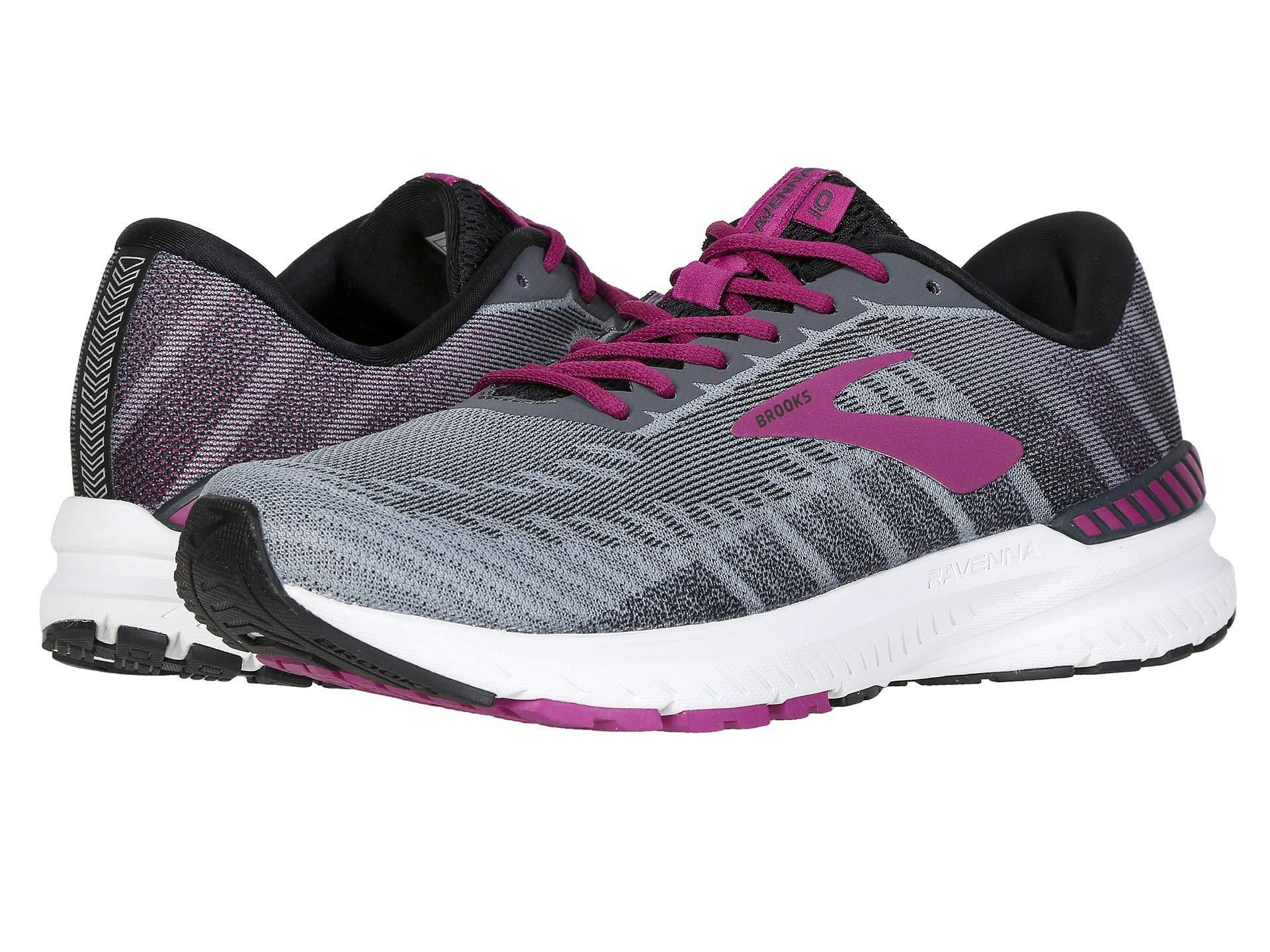 3f81fb539 Brooks - Ravenna 10 (ebony/black/wild Aster) Women's Running Shoes -. View  fullscreen