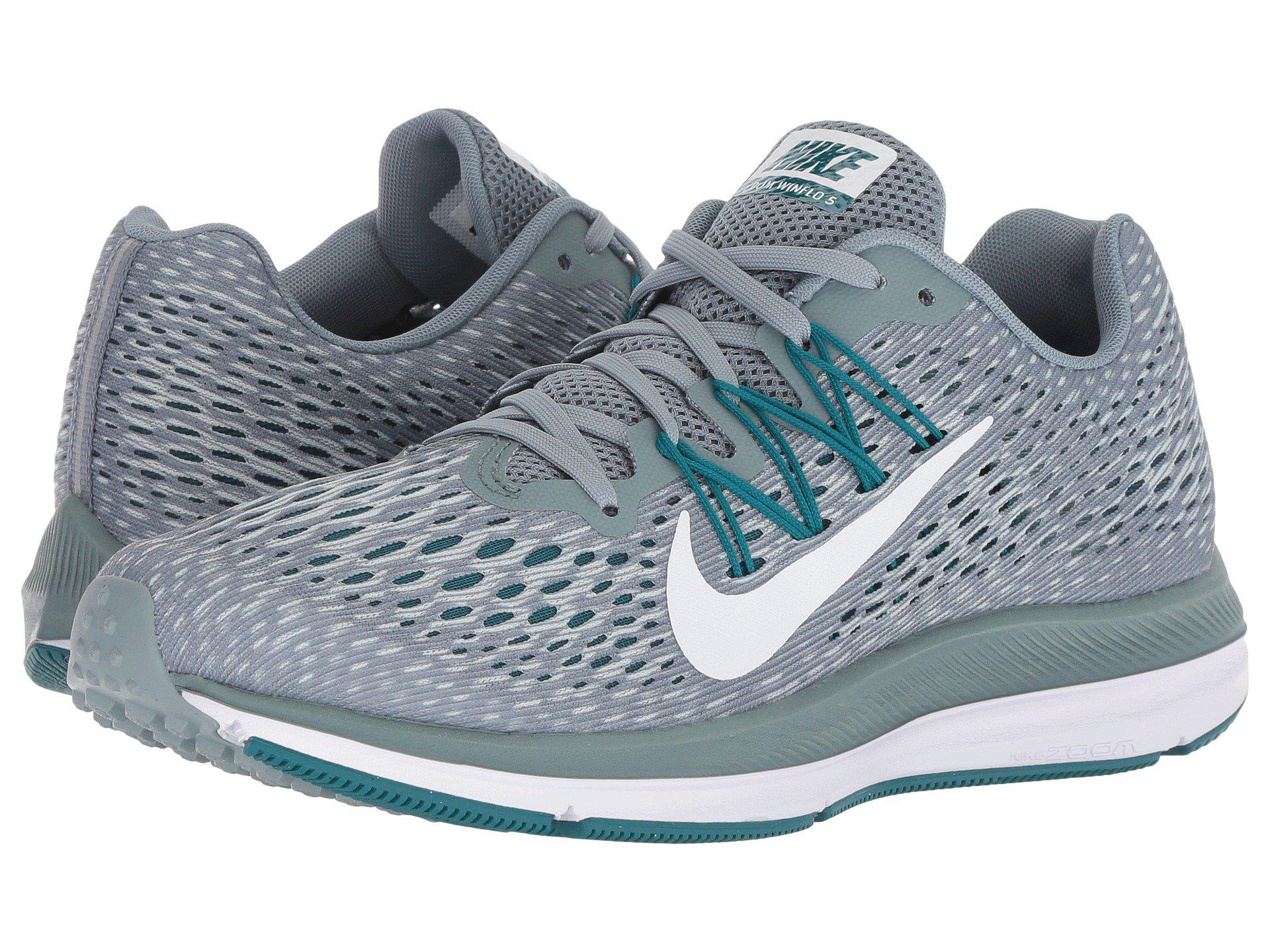 8d6c1de46f38 Lyst - Nike Air Zoom Winflo 5 (aviator Grey white geode Teal ...