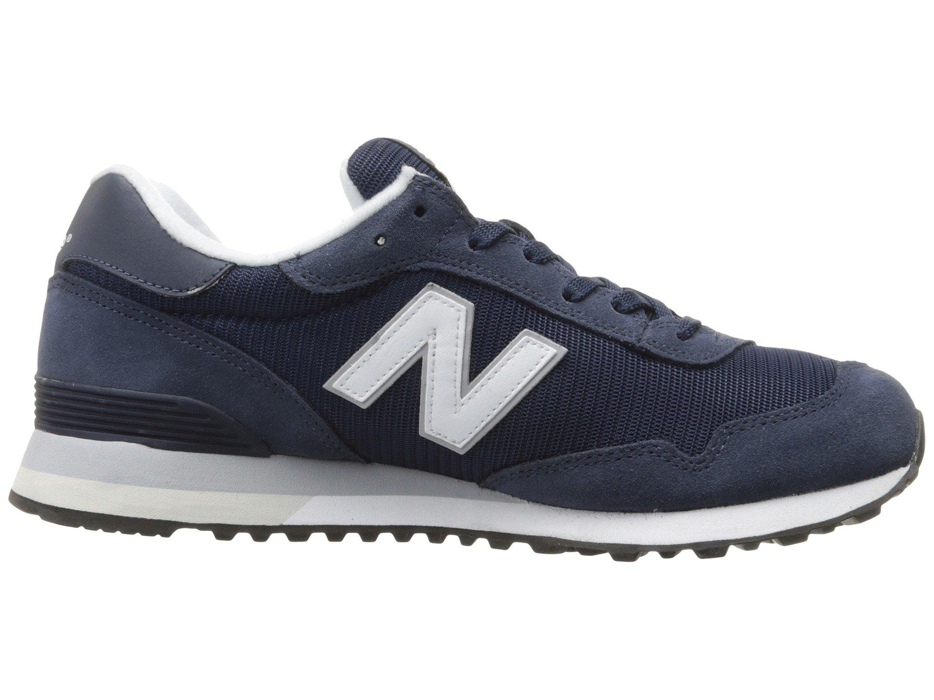 New Balance Suede Ml515 (navy/white 2) Men's Classic Shoes in Blue ...