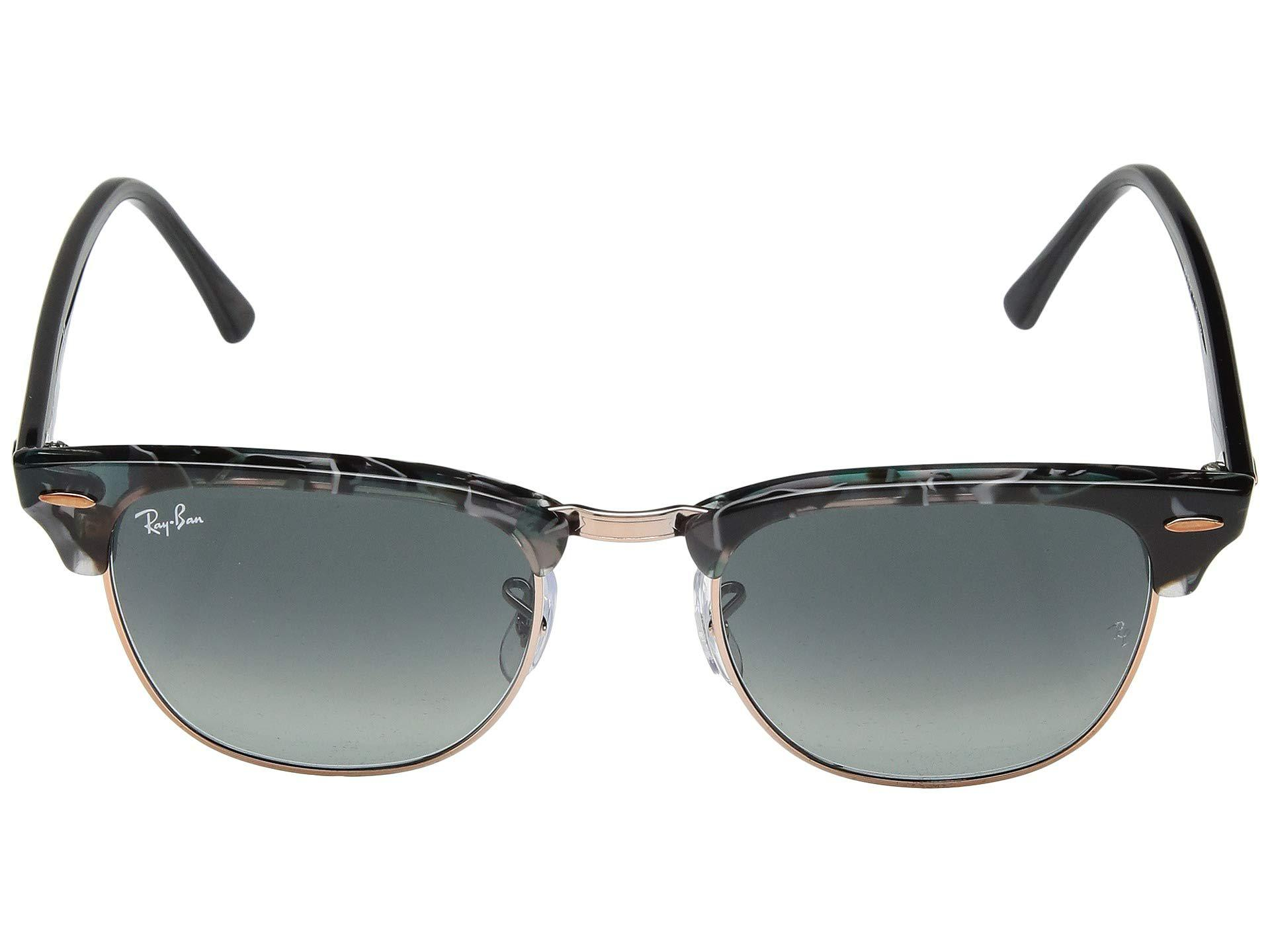 14985a5553d8 Ray-Ban - Gray Clubmaster Rb3016 51mm (dark Tortoise) Fashion Sunglasses  for Men. View fullscreen