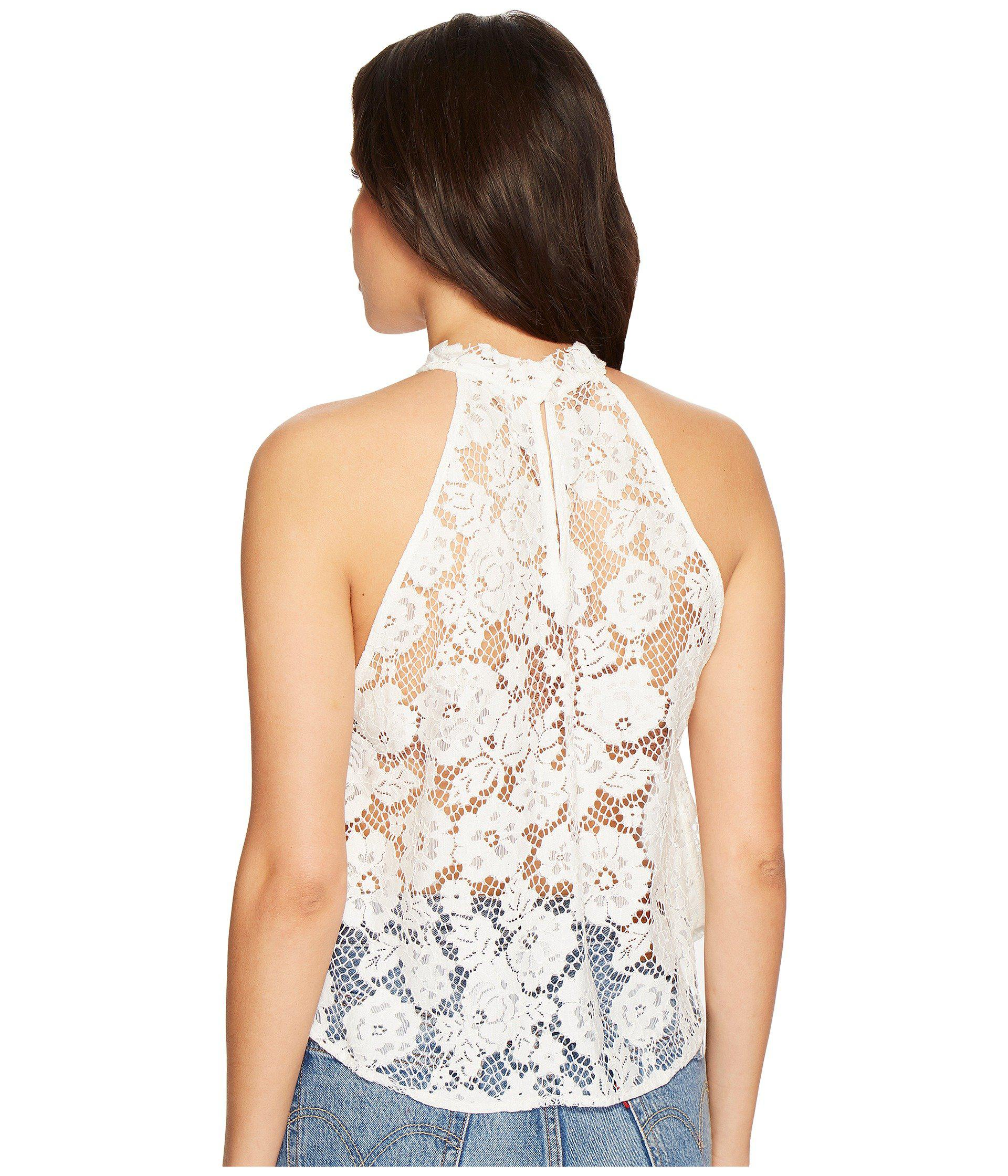 ef2d5bd0deb Women's White Sweet Meadow Dreams Lace Top (ivory) Clothing