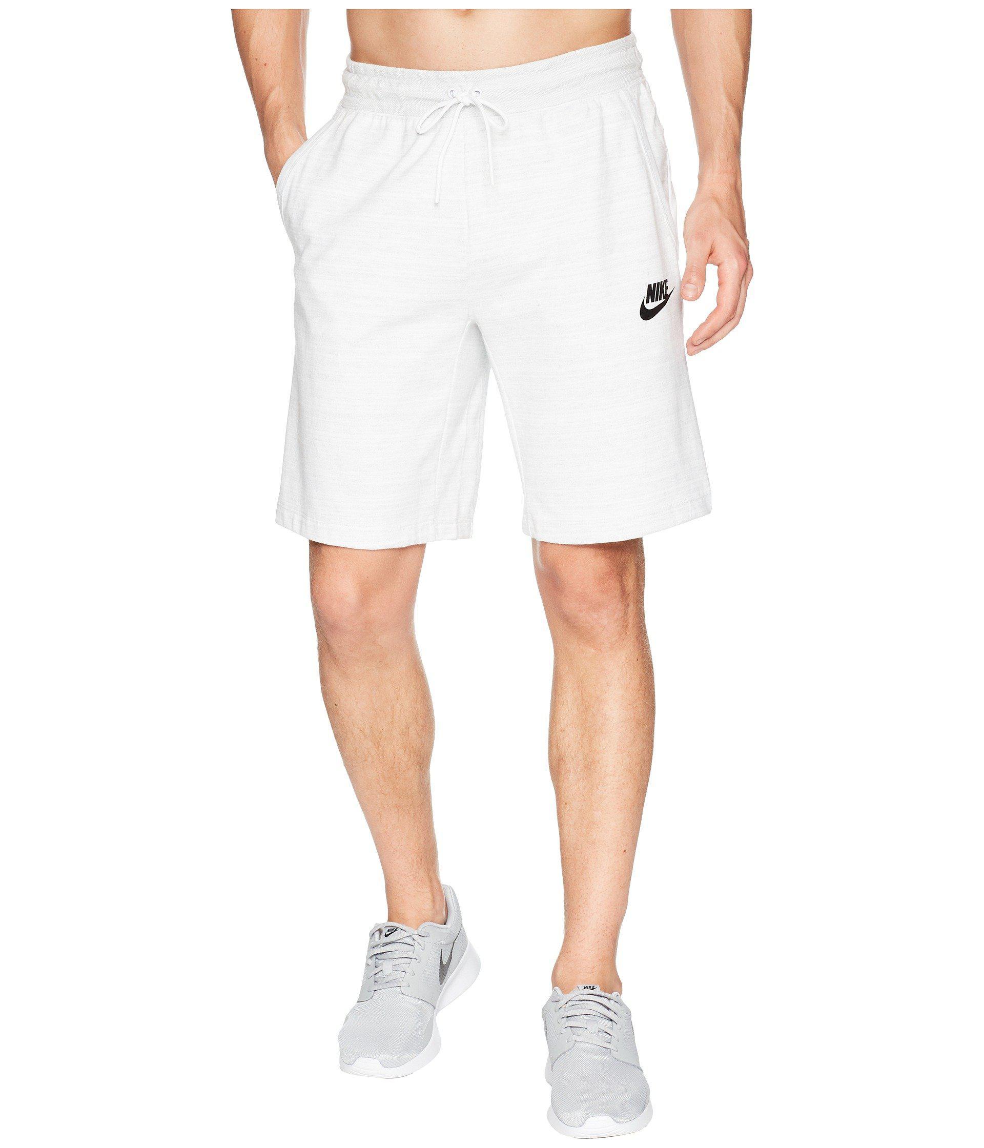 04de897a5fa Nike Nsw Av15 Shorts Knit (white/heather/white/black) Shorts for men