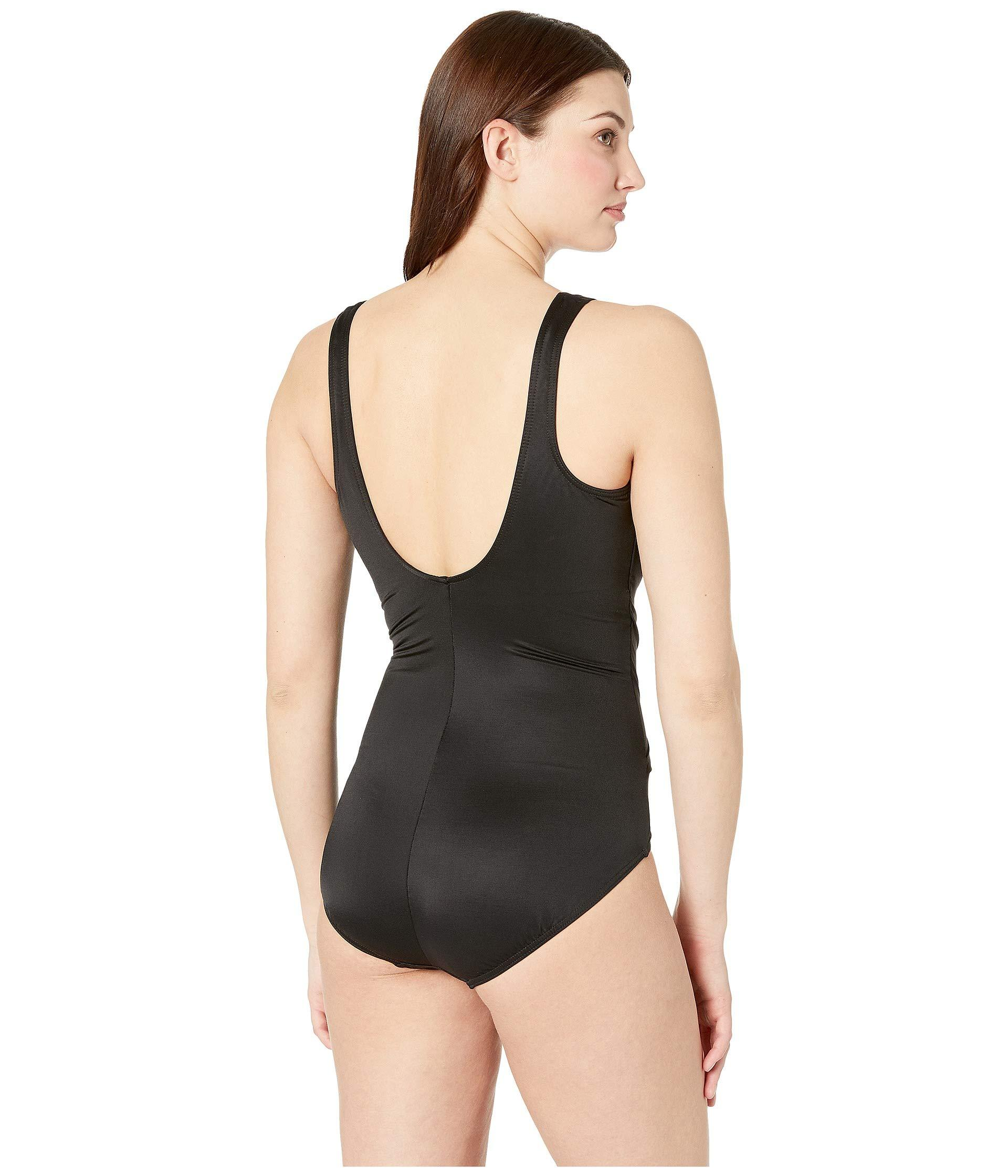 079d5c5d8ce Miraclesuit - Solid Dd-cup Oceanus One-piece (black) Women s Swimsuits One.  View fullscreen