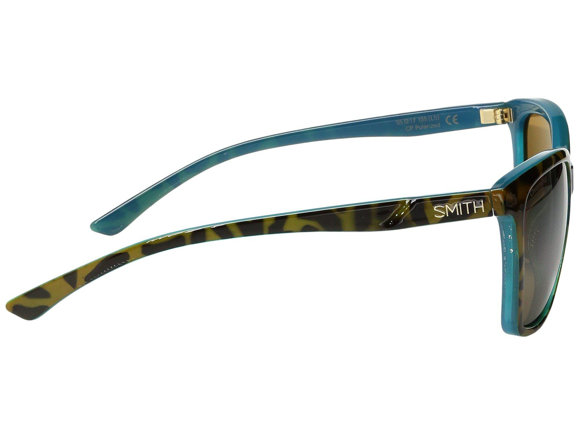 de9ad5824c4 Lyst - Smith Optics Colette (tortoise Marine chromapop Polarized ...