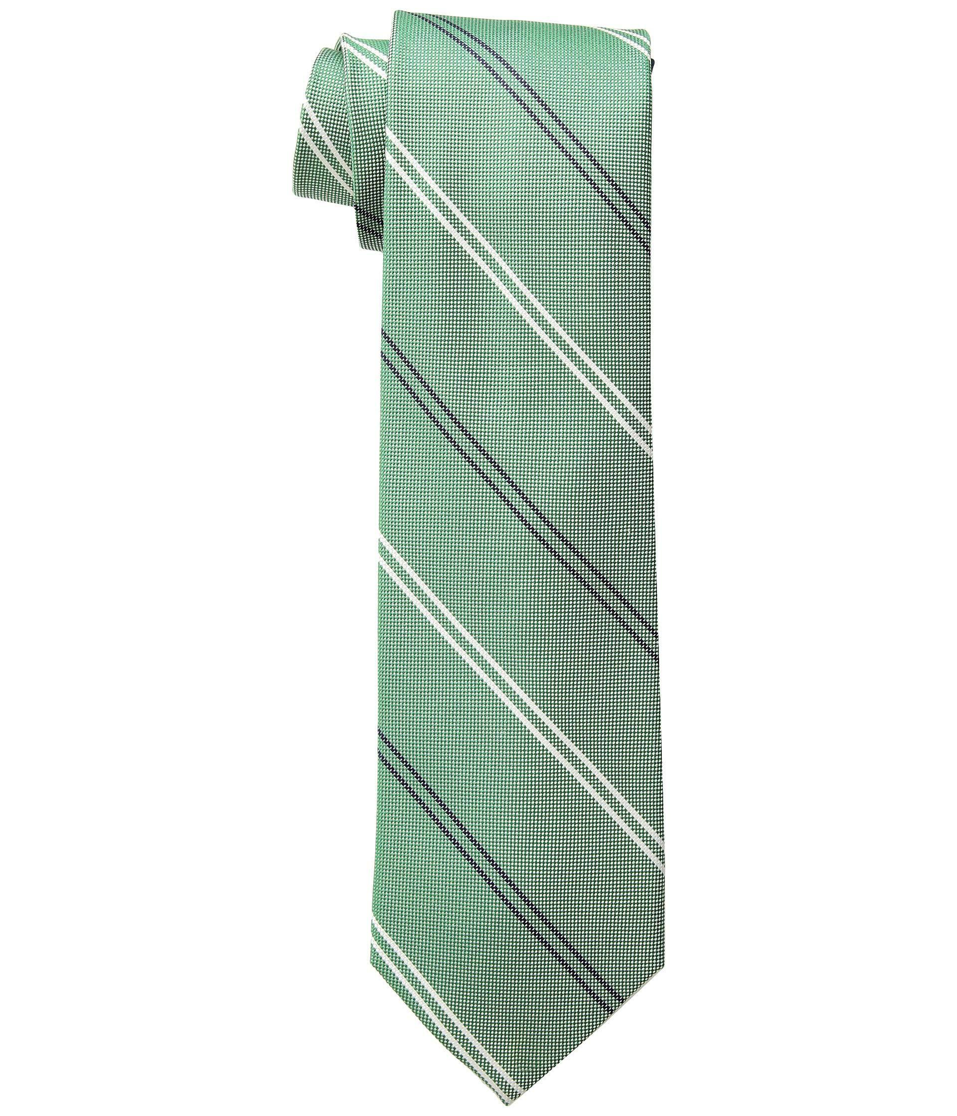 8220229b7 Lyst - Tommy Hilfiger Uptown Stripe (blue) Ties in Green for Men