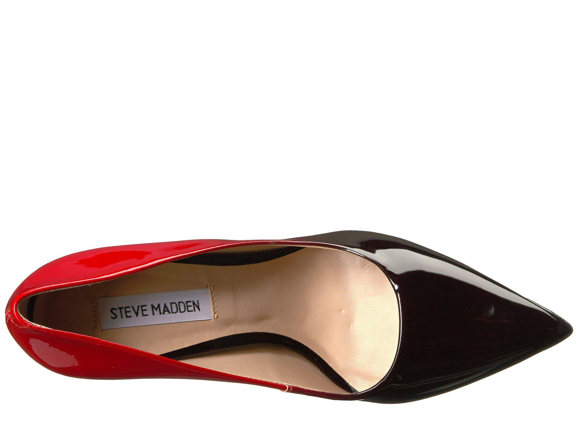 78440e651ab Lyst - Steve Madden Zoey in Red