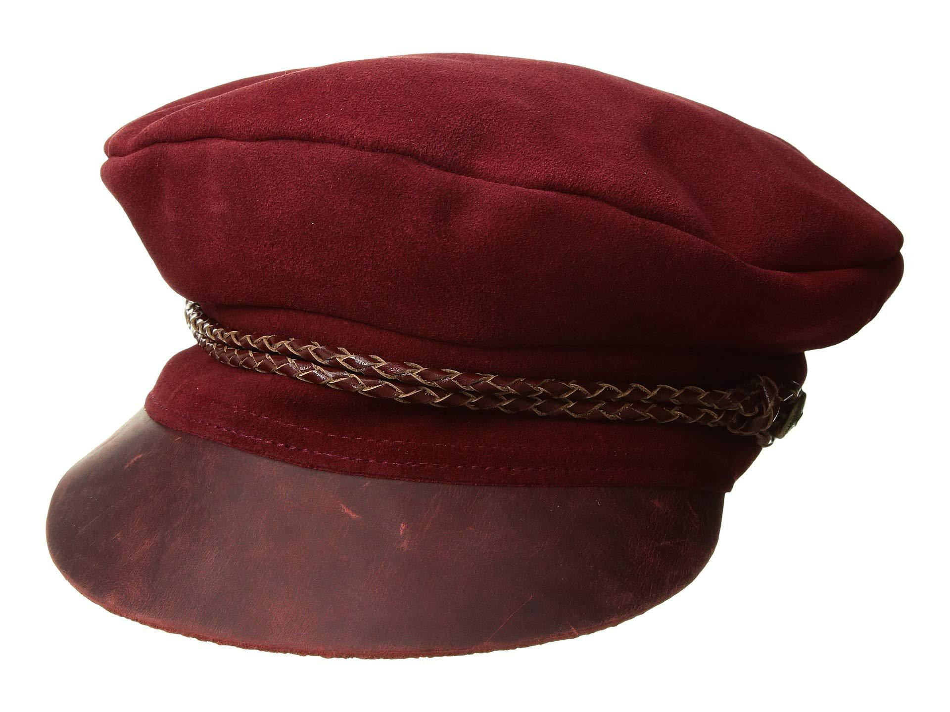 Lyst - Brixton Kayla Cap (brown brown) Traditional Hats in Red b842c73ff94d