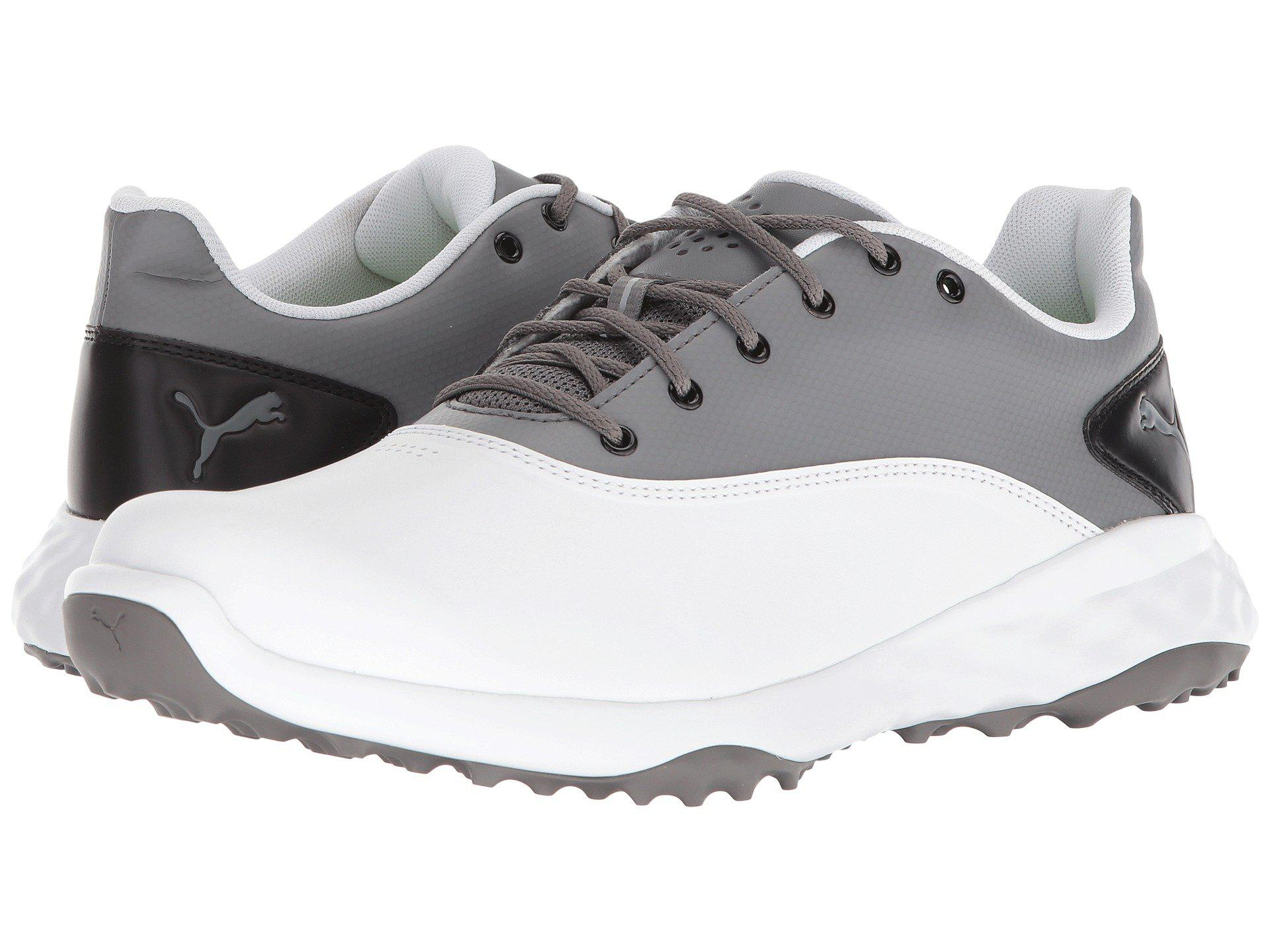 2aafc08aac85 Lyst - PUMA Grip Fusion (puma White quiet Shade puma Black) Men s ...