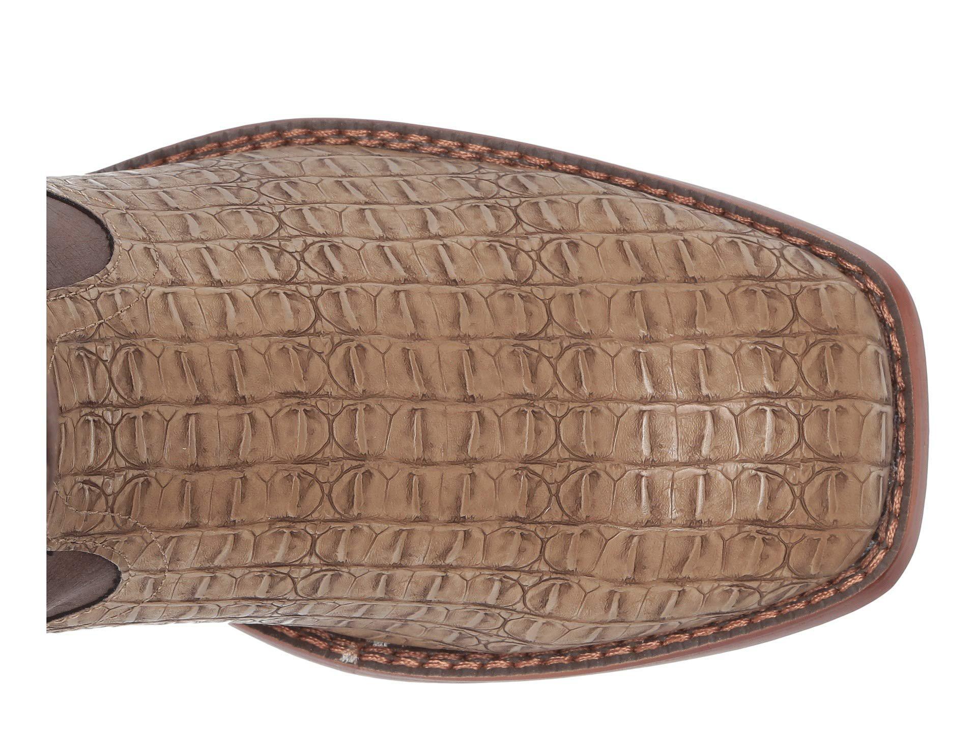 d2822ecff76 Lyst - Roper Chomp (black Faux Caiman Vamp/vintage Shaft) Cowboy ...
