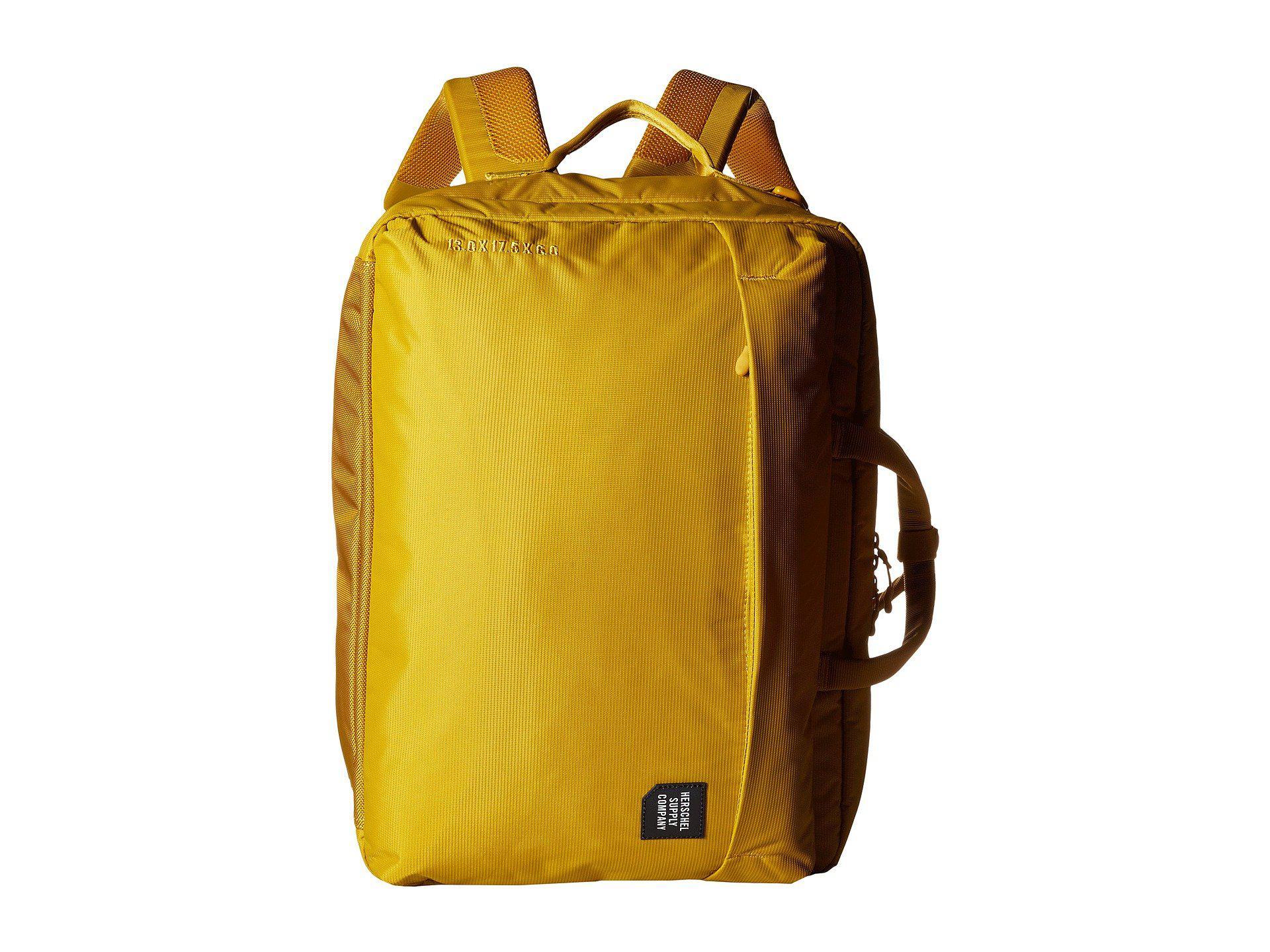 eae09e707e4 Herschel Supply Co. Men s Yellow Britannia Xl (arrowwood) Messenger Bags