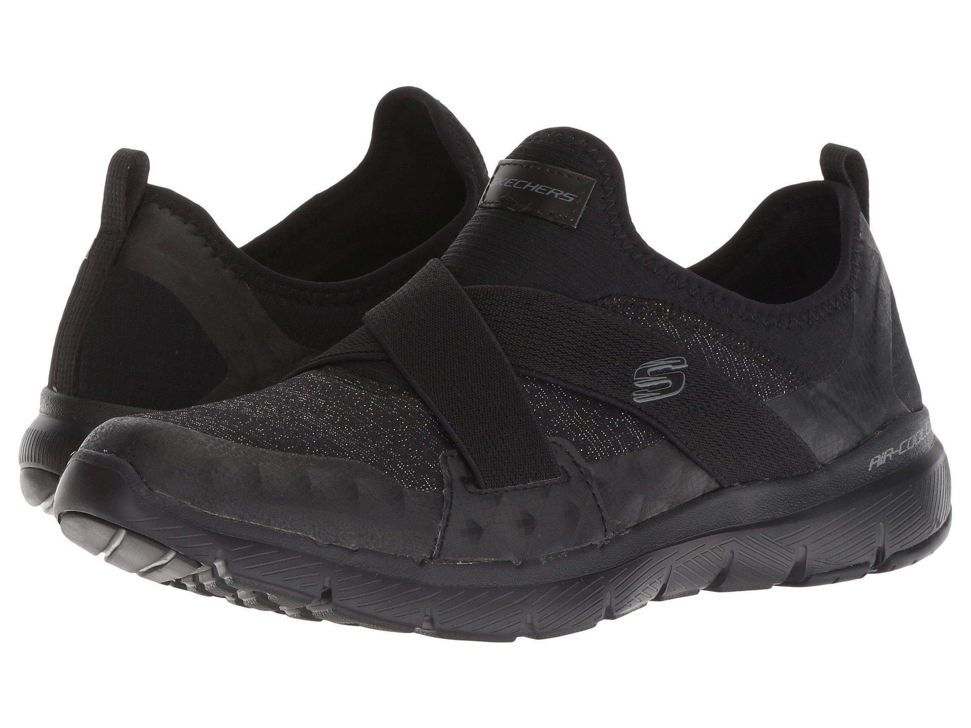f82d12f4f5a4 Lyst - Skechers Flex Appeal 3.0 (gray) Women s Shoes in Black