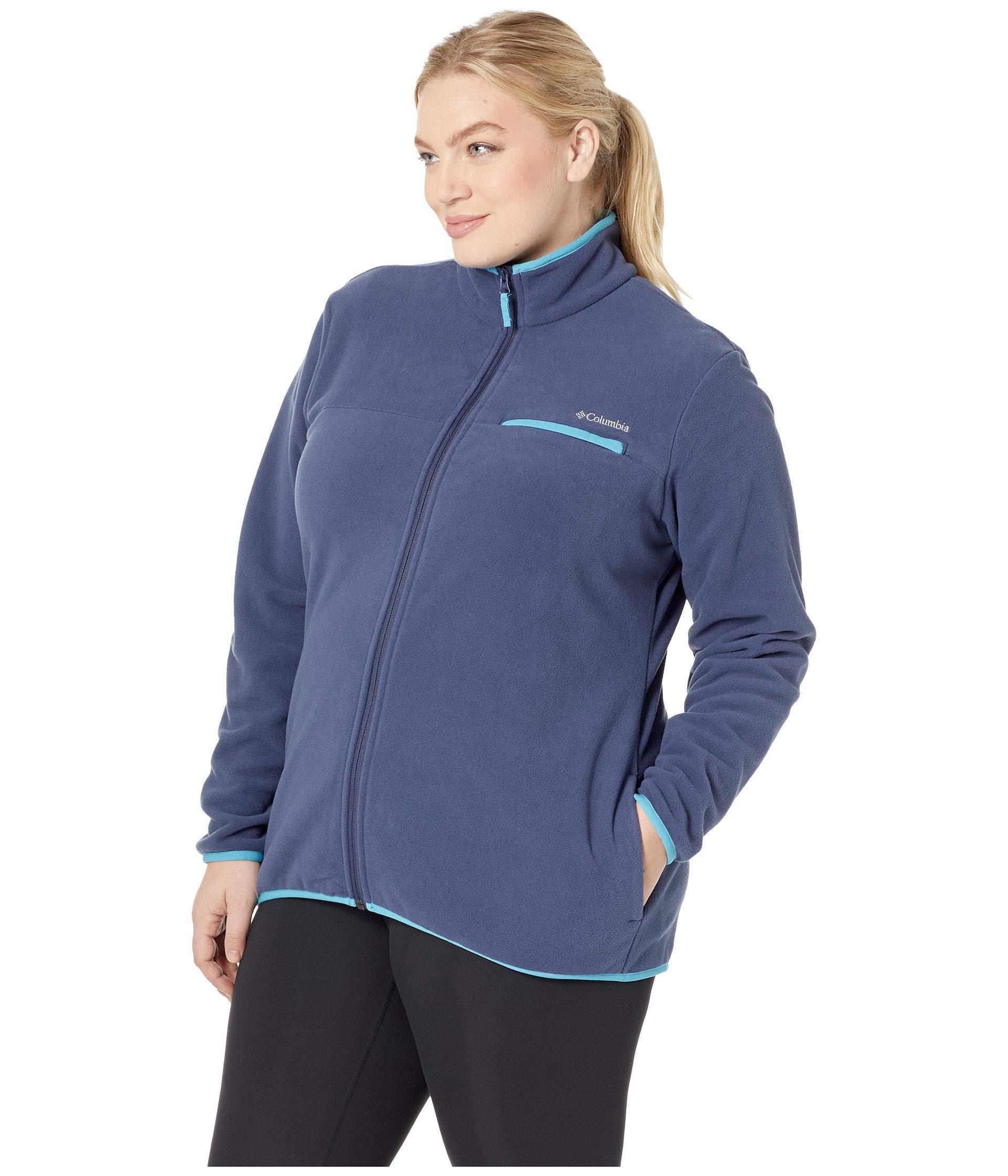 NWT Columbia Women/'s Mountain Crest Full Zip Fleece Size Large $50 4 COLORS