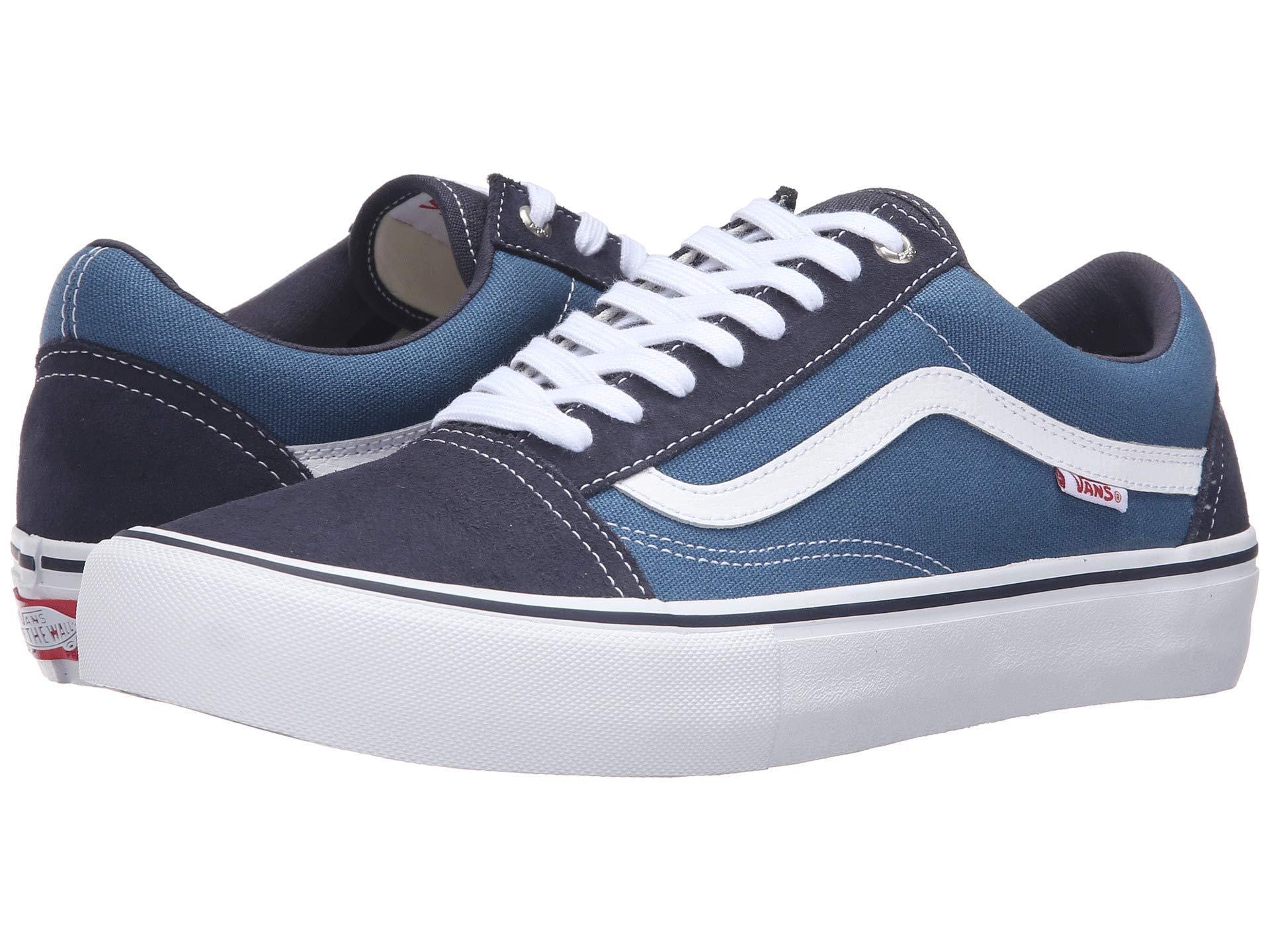 26dea698192 Vans. Blue Old Skool Pro ((ballistic) Marshmallow black) Men s Skate Shoes