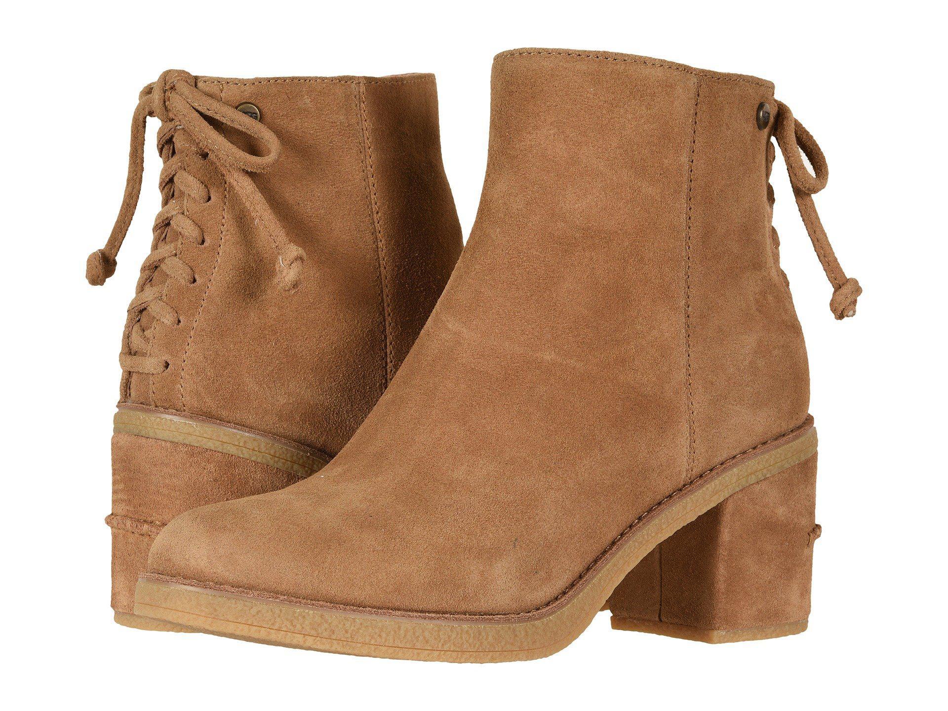 Lyst - UGG Corinne Boot (chestnut) Women s Zip Boots in Brown 0c13666d3