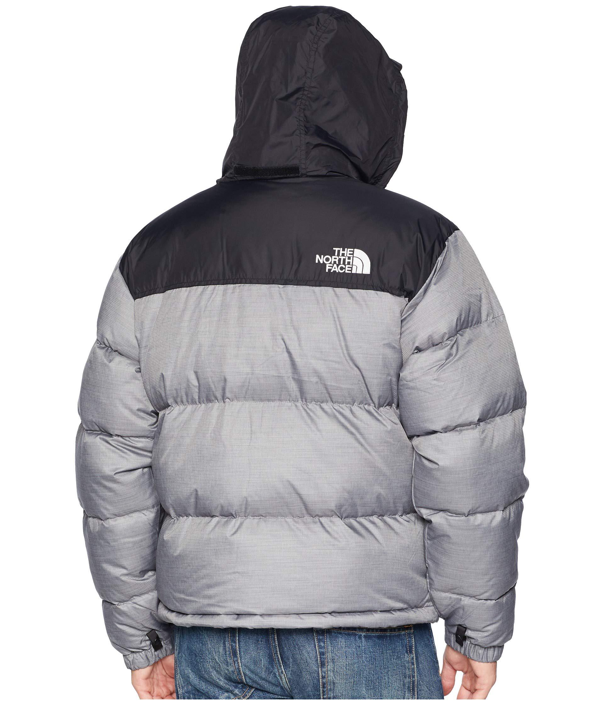 The North Face - Gray 1996 Nuptse Jacket (tnf Medium Grey Heather) Men s  Coat. View fullscreen a8eb9da07
