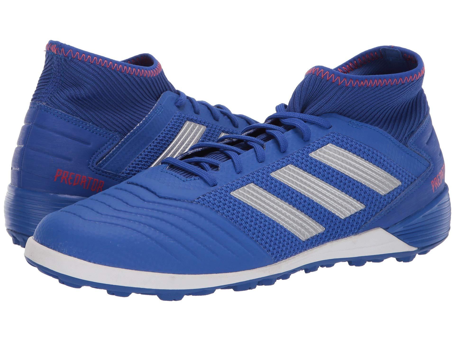 a2a5d88fbc6 adidas. Blue Predator 19.3 Tf (core Black core Black active Red) Men s  Soccer Shoes