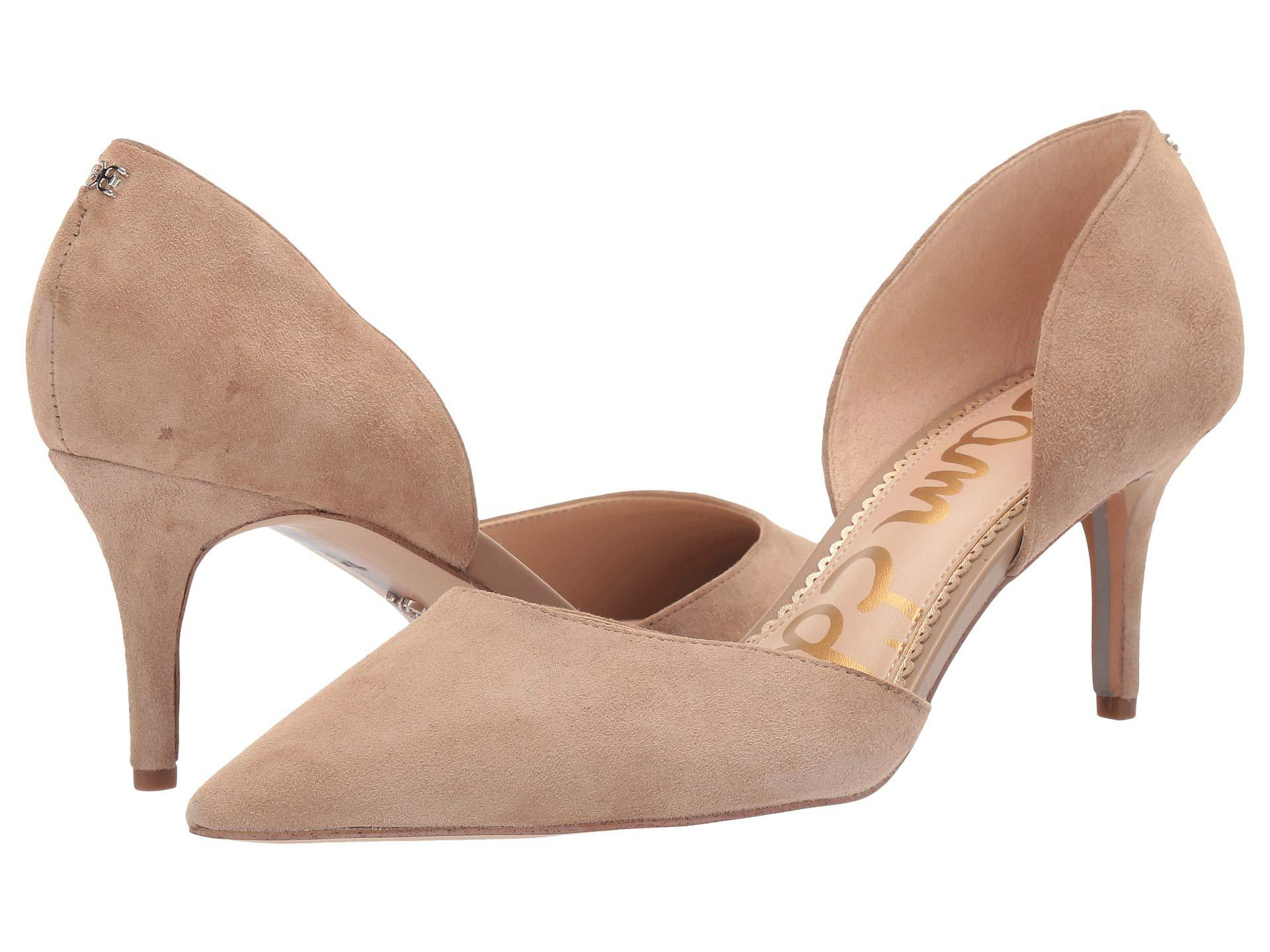 dd9855f645e62 Lyst - Sam Edelman Jaina (black Kid Suede Leather) Women s Shoes in ...