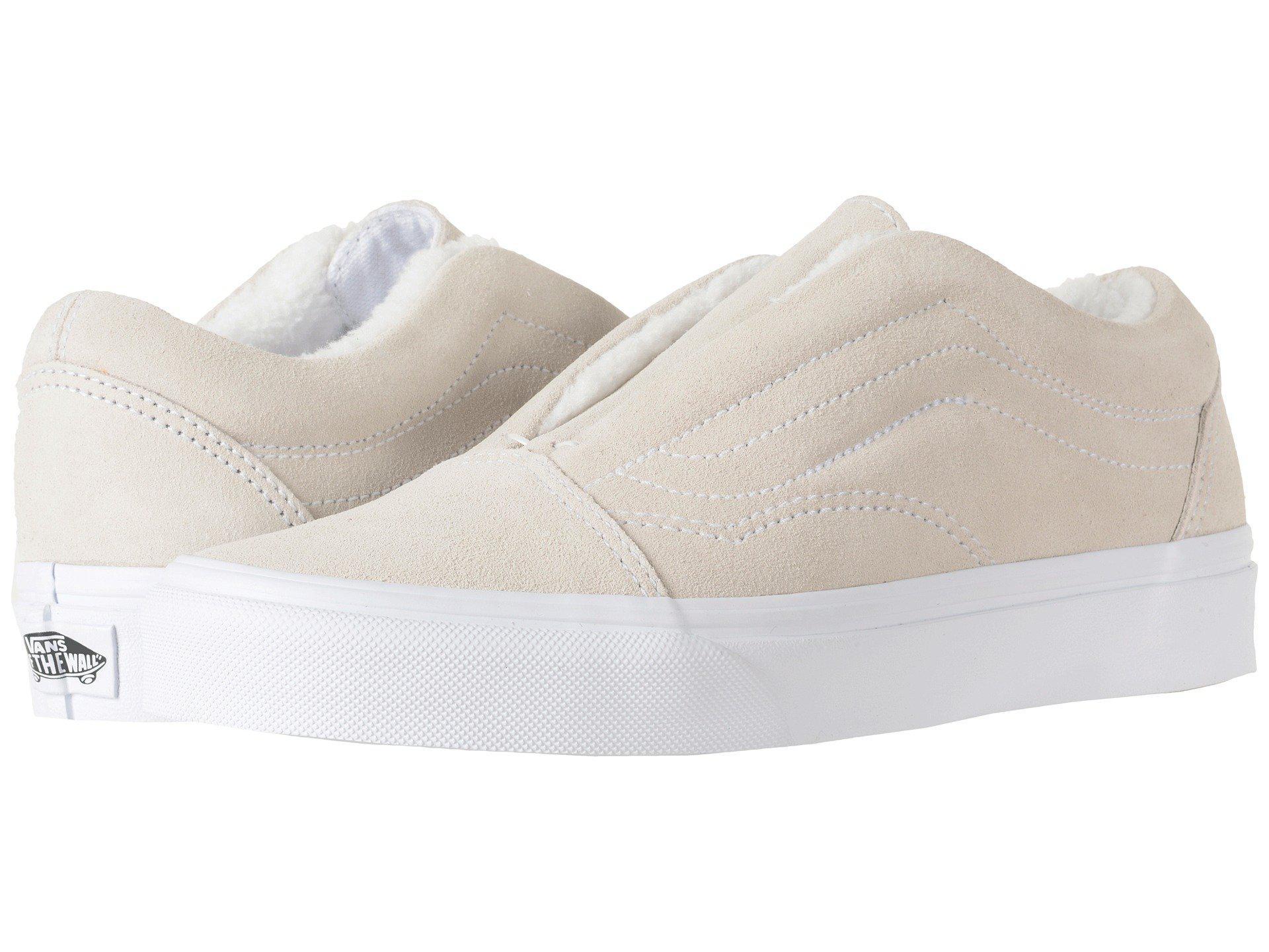 Vans. Women's White Old Skool Laceless Hg