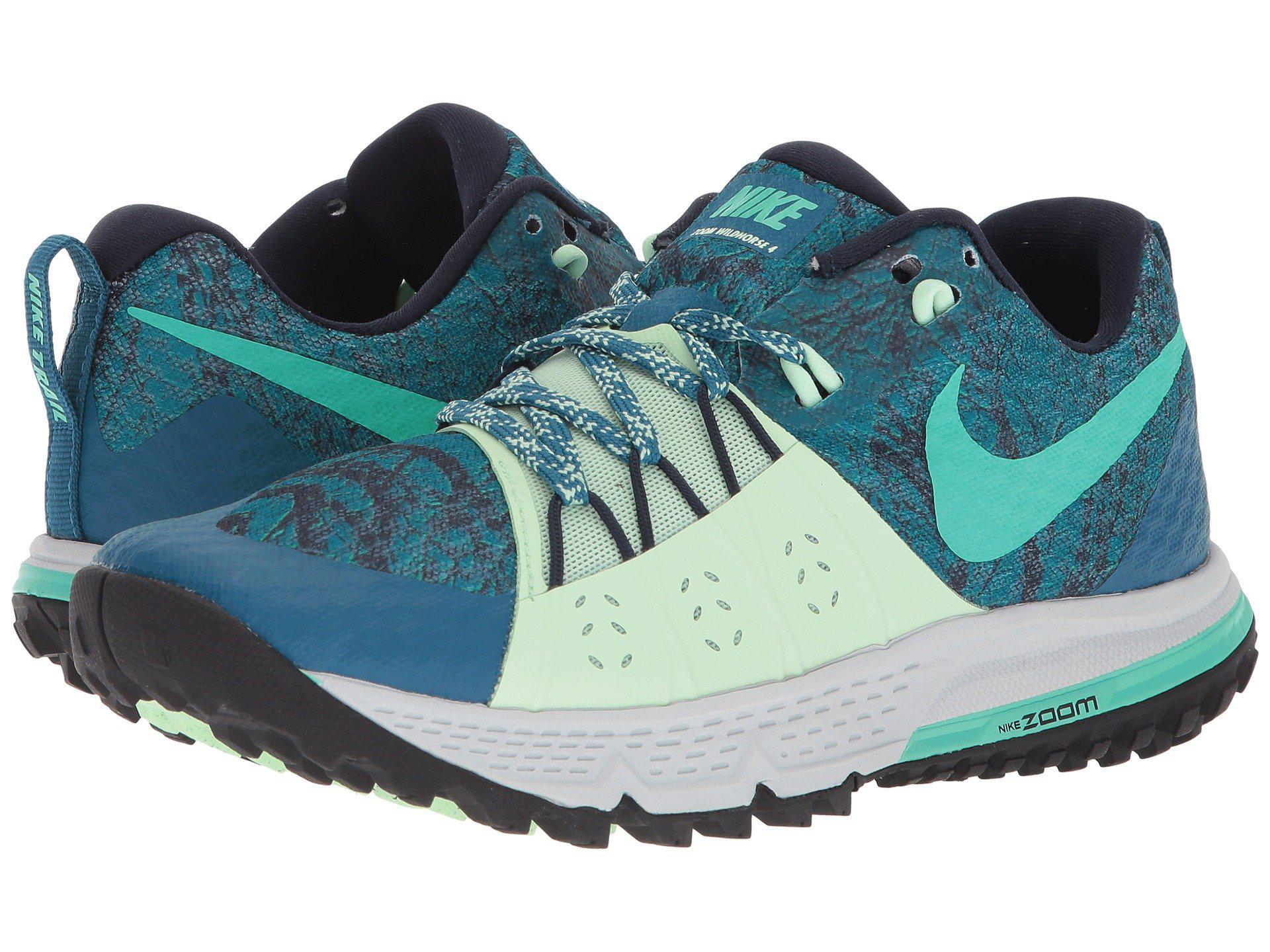 ed25cf70563d Lyst - Nike Air Zoom Wildhorse 4 in Green