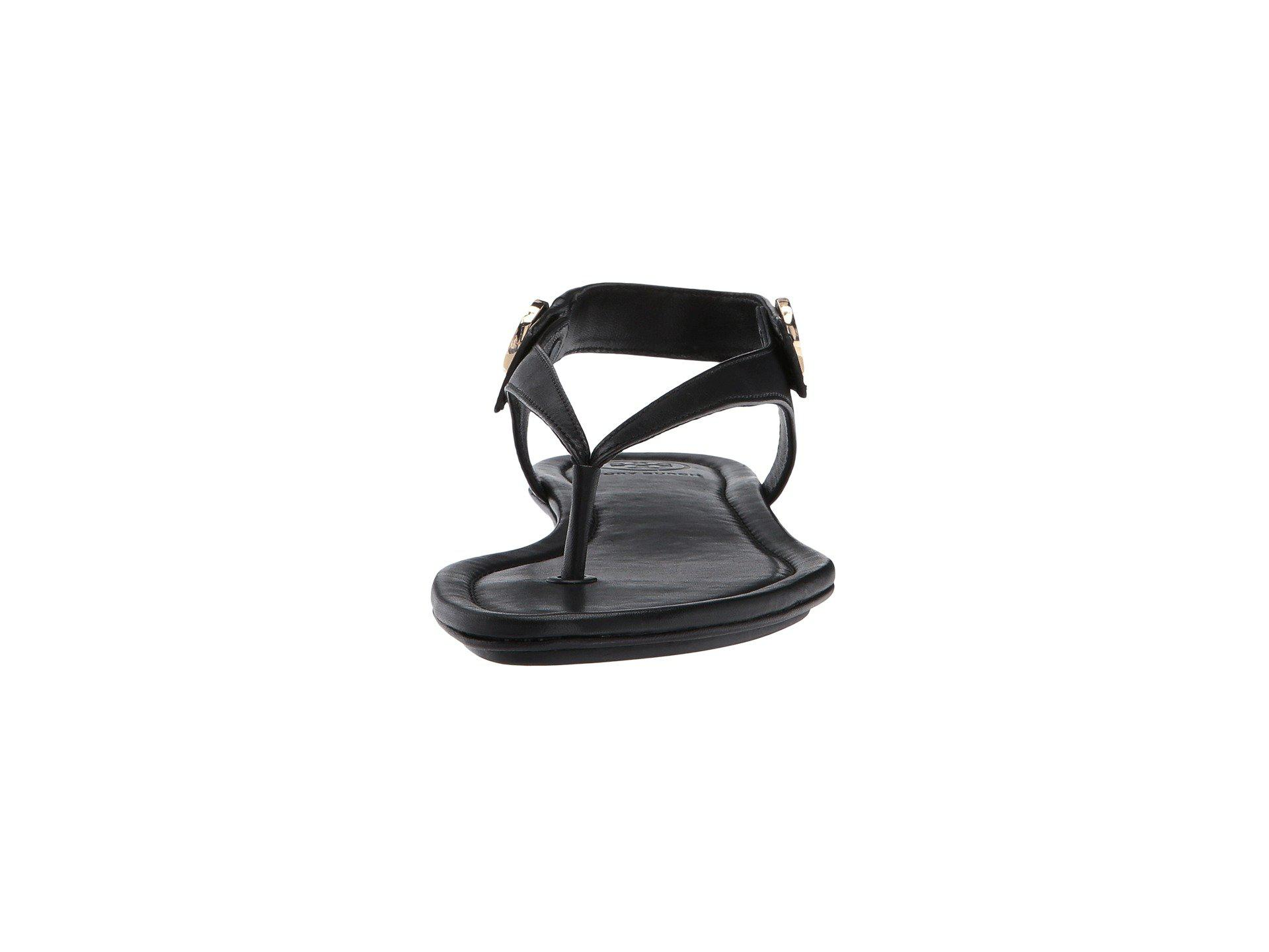 9e0a0bb11bda Lyst - Tory Burch Minnie Travel Sandal (royal Tan) Women s Sandals ...