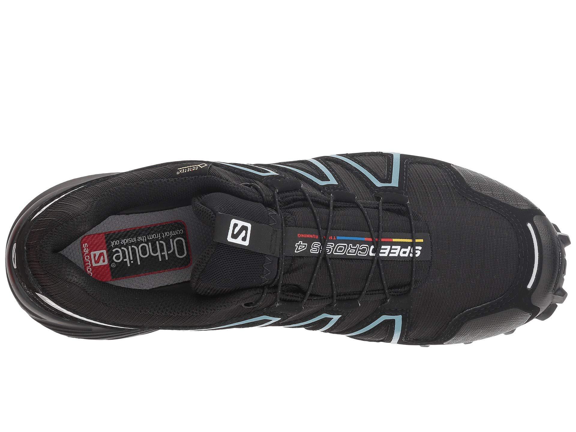 0296003e0570 Yves Salomon - Speedcross 4 Gtx (black black metallic Bubble Blue) Women s.  View fullscreen