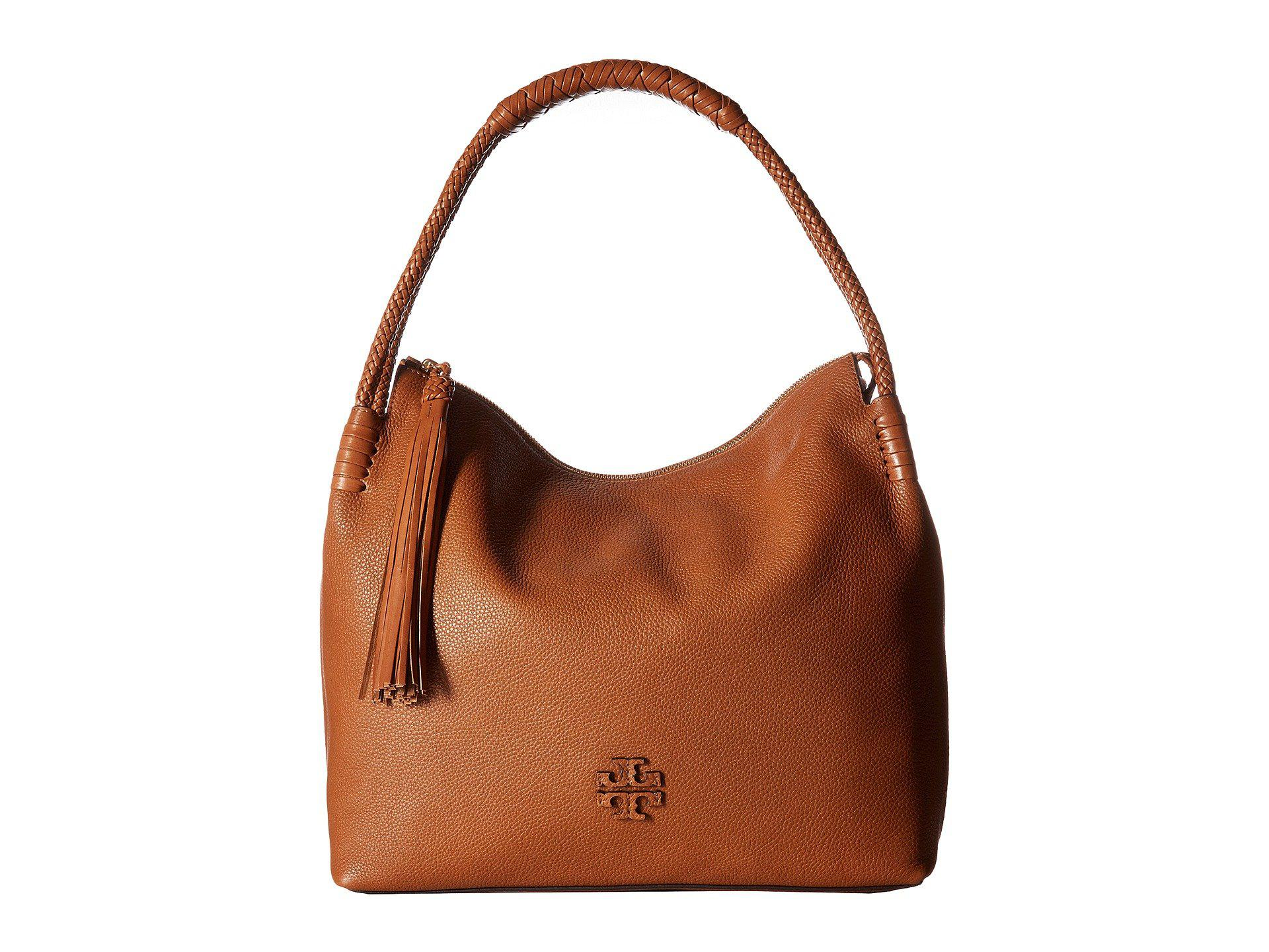 f6680902e3b Lyst - Tory Burch Taylor Hobo in Brown