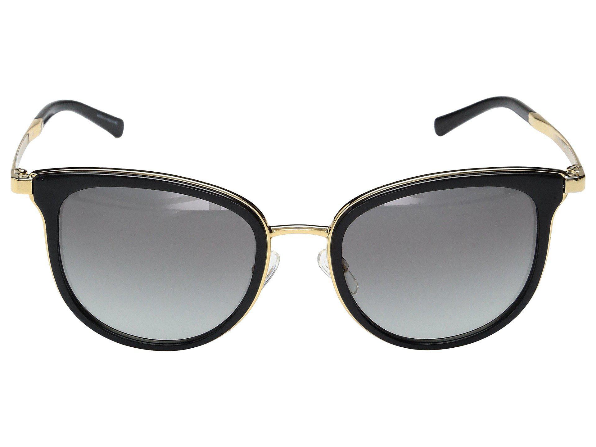1ffa546243237 Michael Kors - Adrianna I Mk1010 (black gold) Fashion Sunglasses - Lyst.  View fullscreen