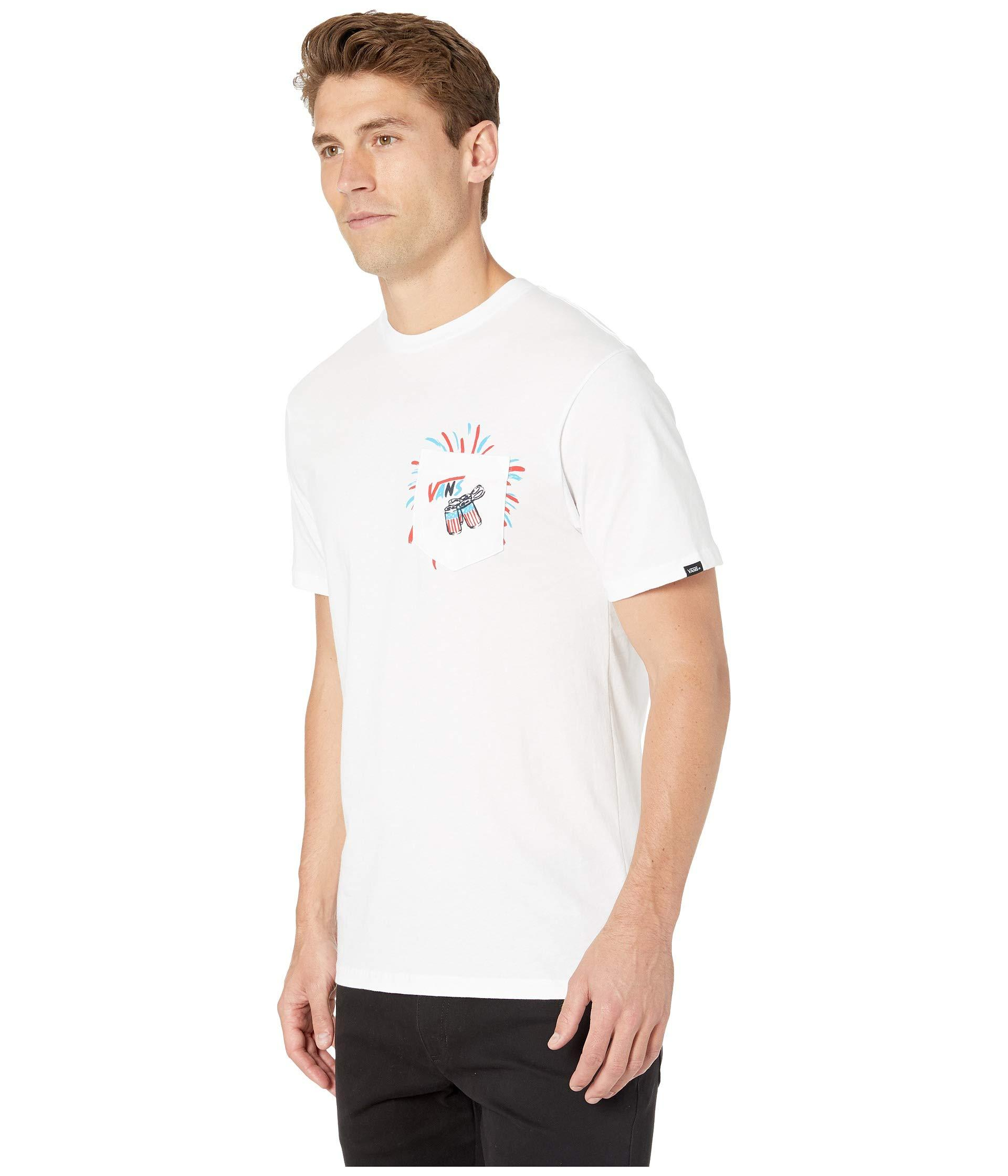 fe97c1e43fffe4 Lyst - Vans Uncle Slam Pocket T-shirt (white) Men s T Shirt in White for Men
