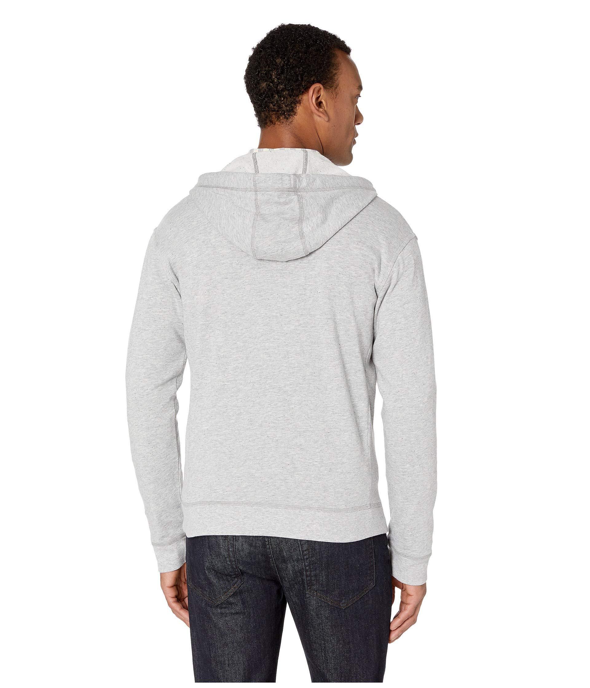 91f46eeaeac Ugg - Gray Elliot Terry Full Zip Hoodie (seal) Men s Sweatshirt for Men -.  View fullscreen
