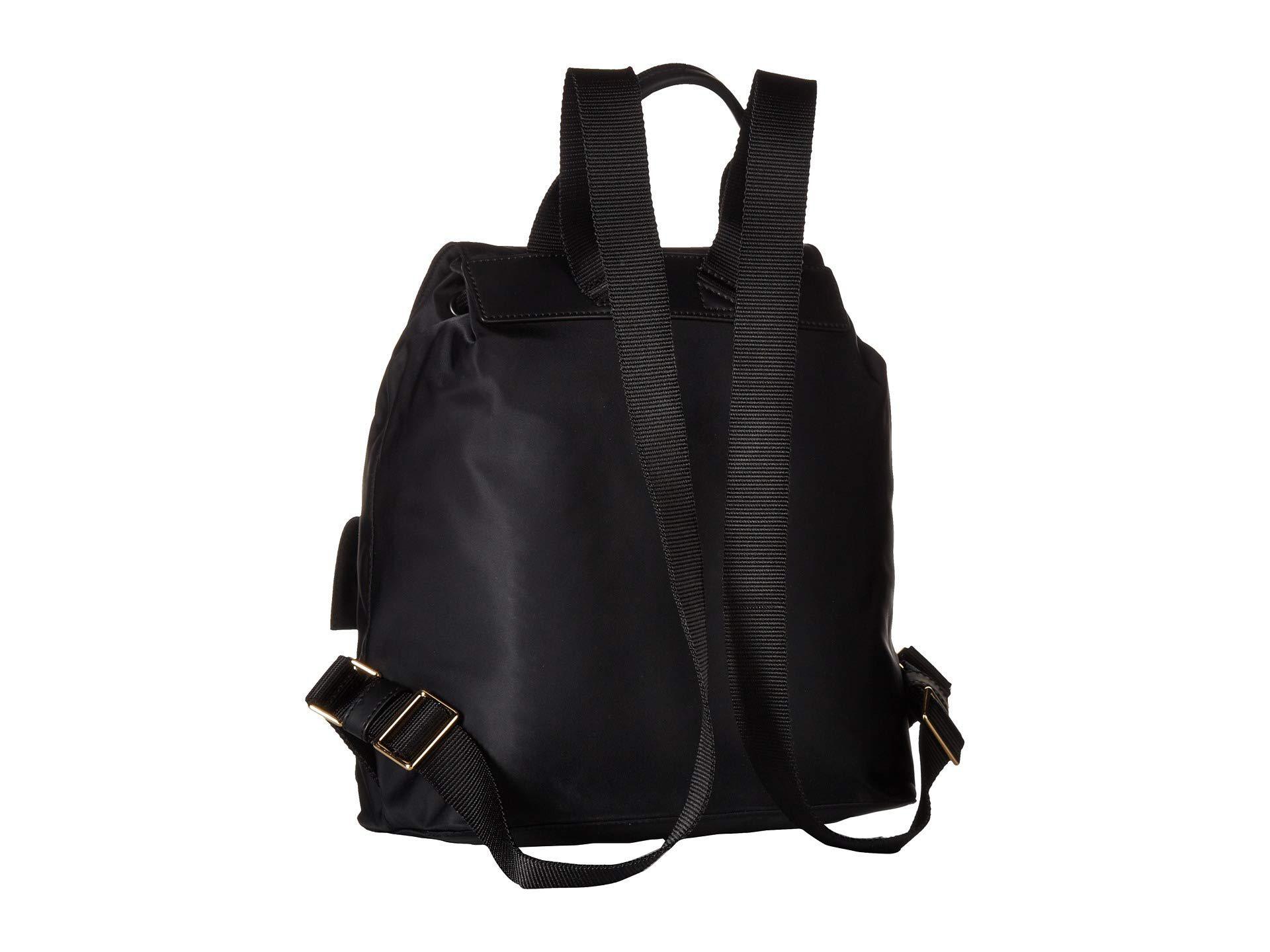9a1fe059e1d Tory Burch - Tilda Nylon Flap Backpack (black) Backpack Bags - Lyst. View  fullscreen