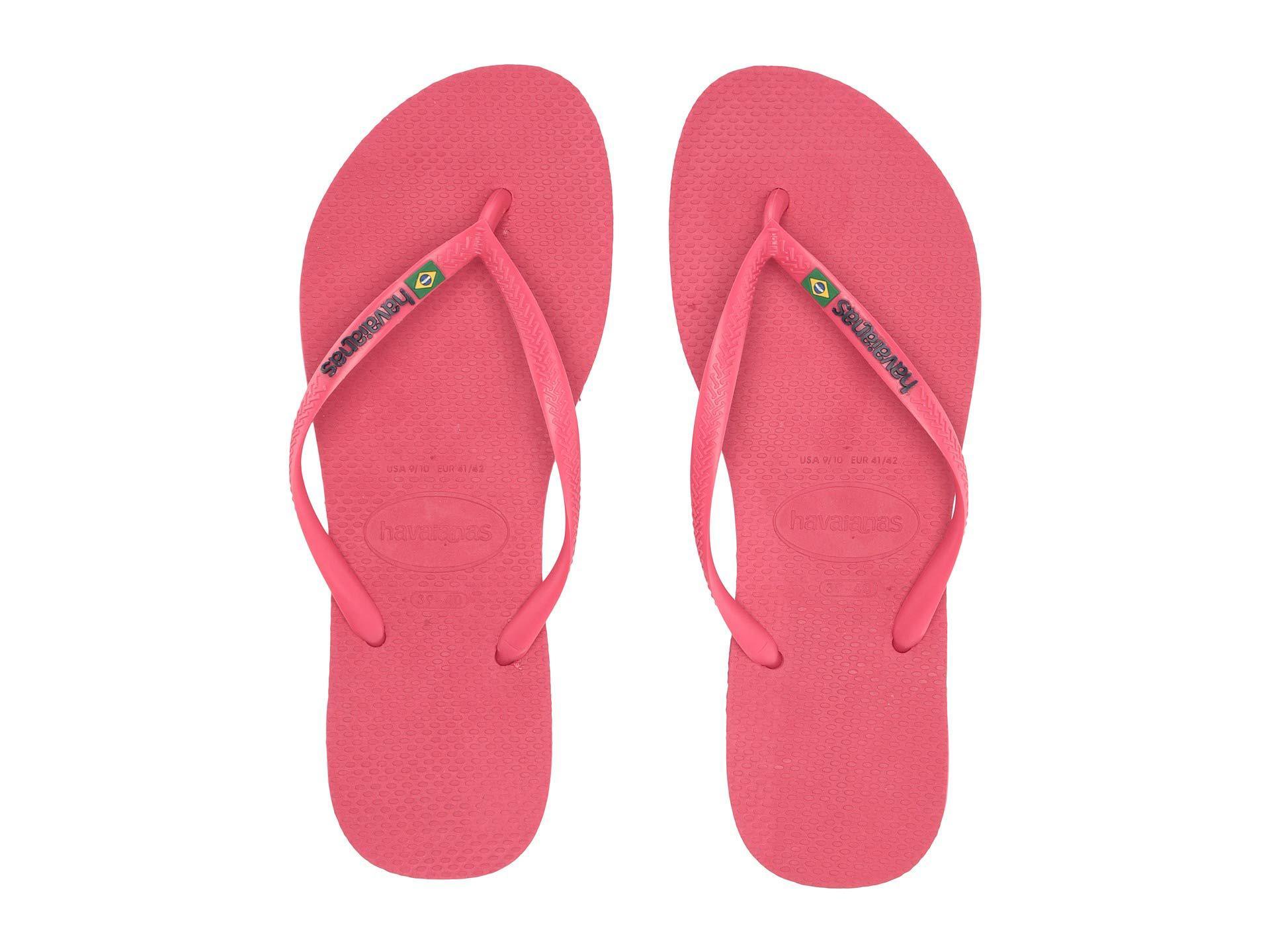 d06c5e5edf8278 Havaianas - Pink Slim Brazil Flip-flops (flamingo) Women s Sandals - Lyst.  View fullscreen